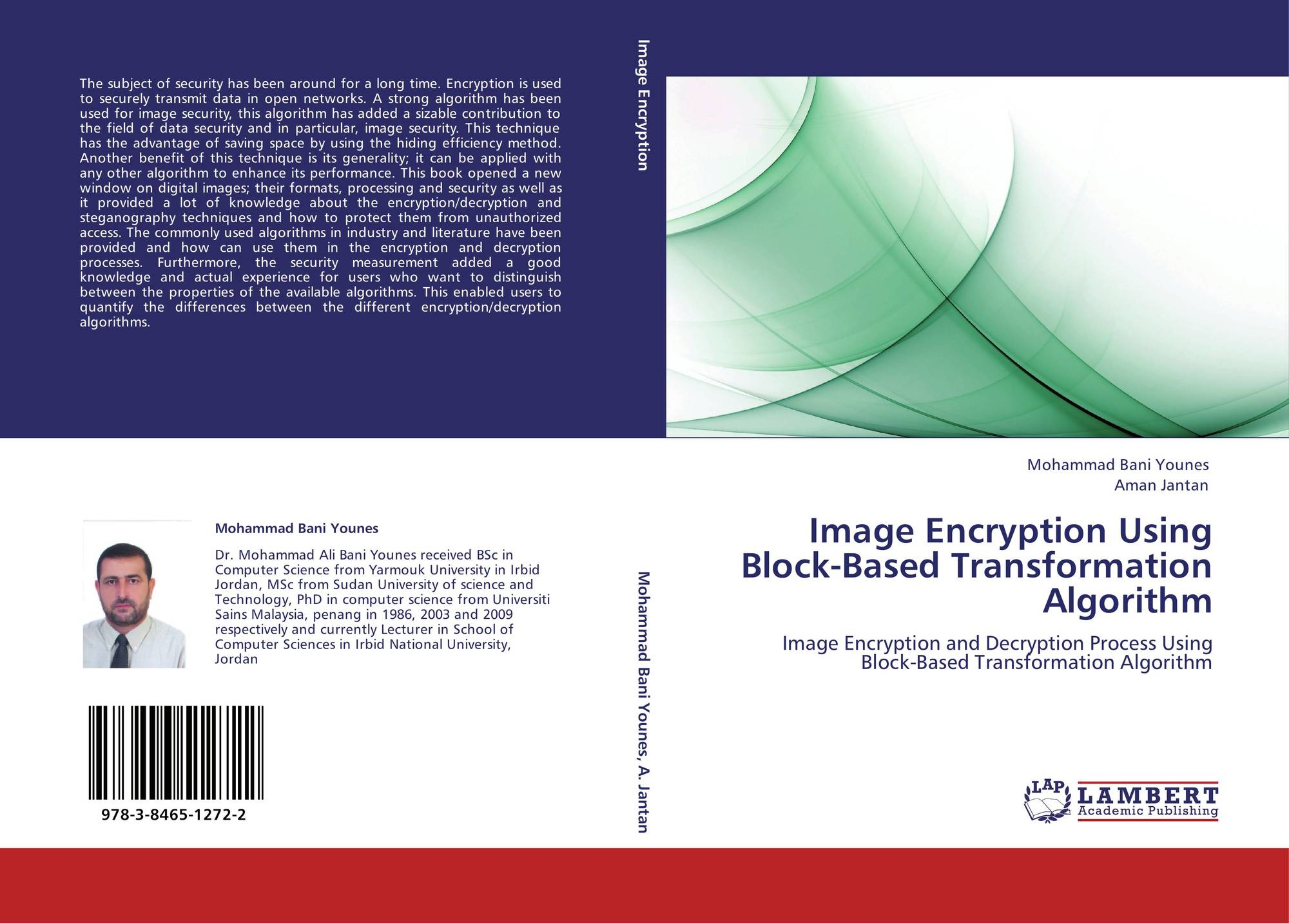 image encryption Color image encryption is different from text encryption due to some inherent  features of the image, such as bulk data capacity and high correlation among  pixels.