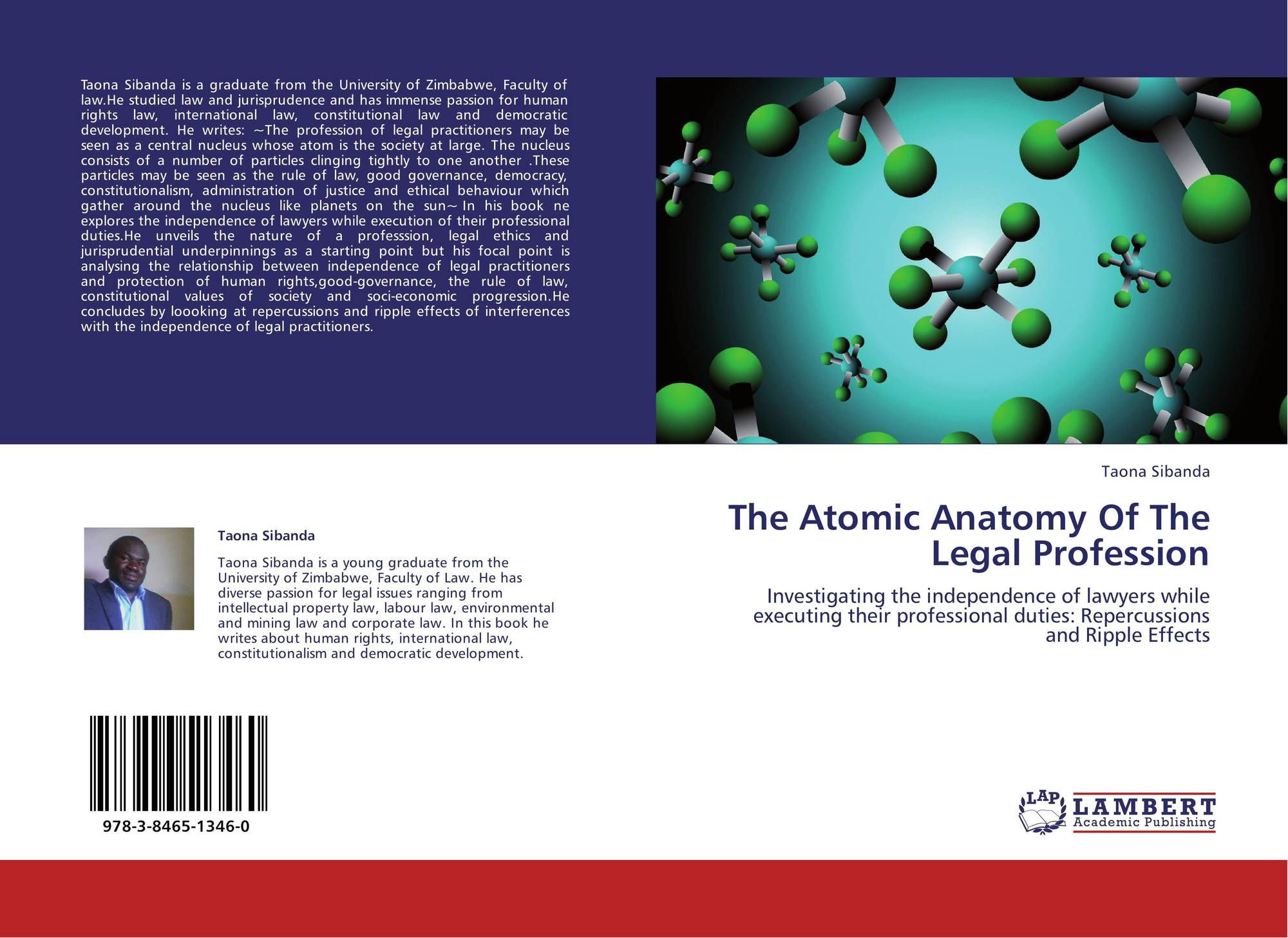 The Atomic Anatomy Of The Legal Profession, 978-3-8465-1346-0 ...