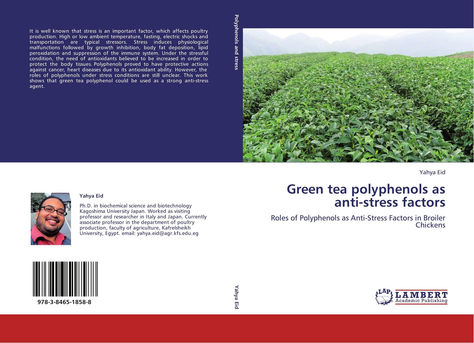 Green tea polyphenols as anti-stress factors, 978-3-8465