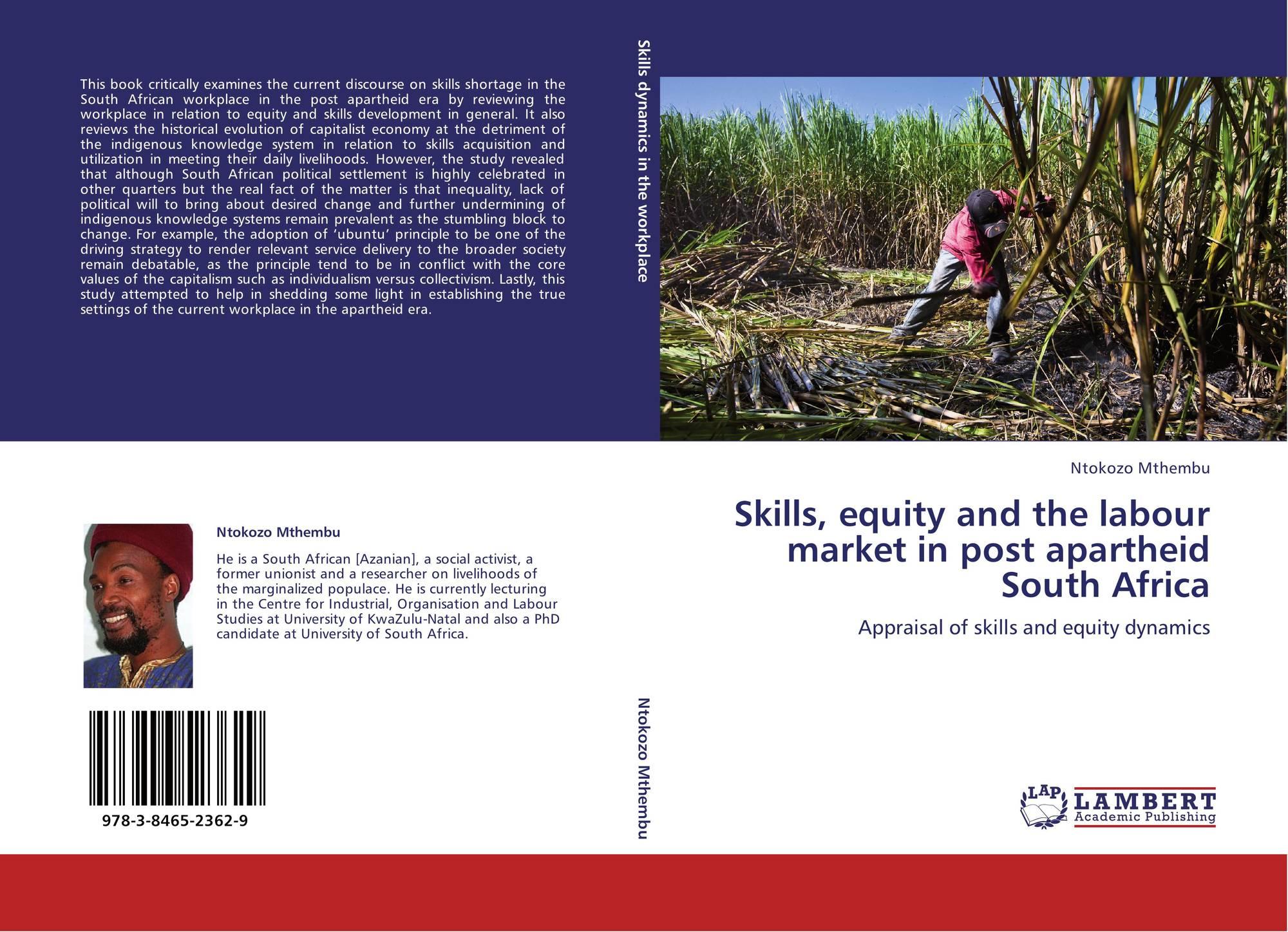 post apartheid south africa pdf