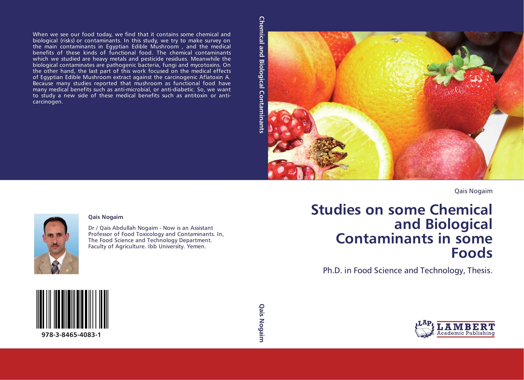 food chemistry phd thesis Chemistry is the science that covers composition, properties, structure and reactions of molecules, atoms and systems that include the two chemistry originated from the medieval art of alchemy, which sought to create gold through various transformations of materials.