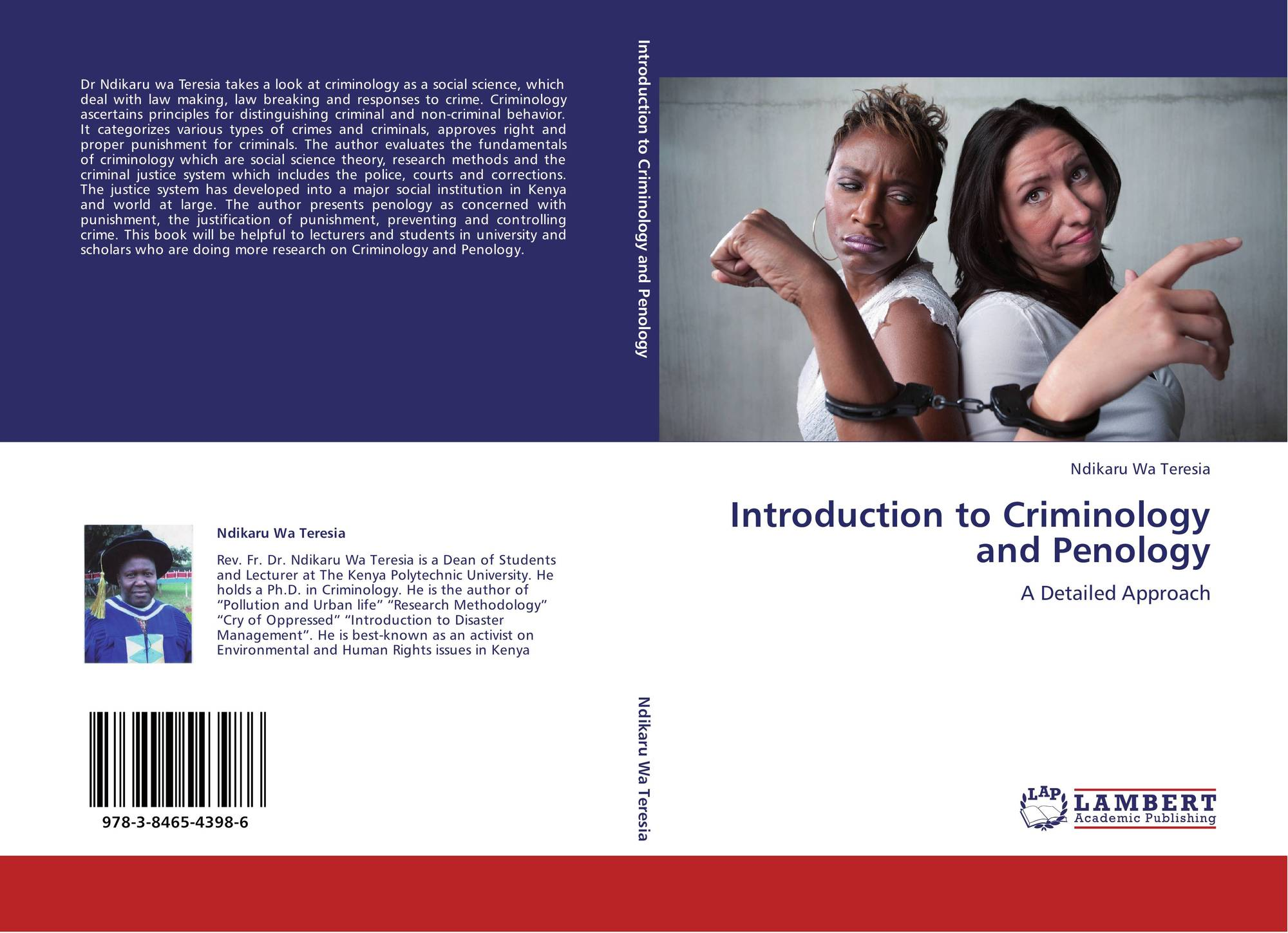 intro to research methods criminology Articles published in seven leading criminology and criminal justice journals were coded with regard to the research methods used, focusing on the general research.