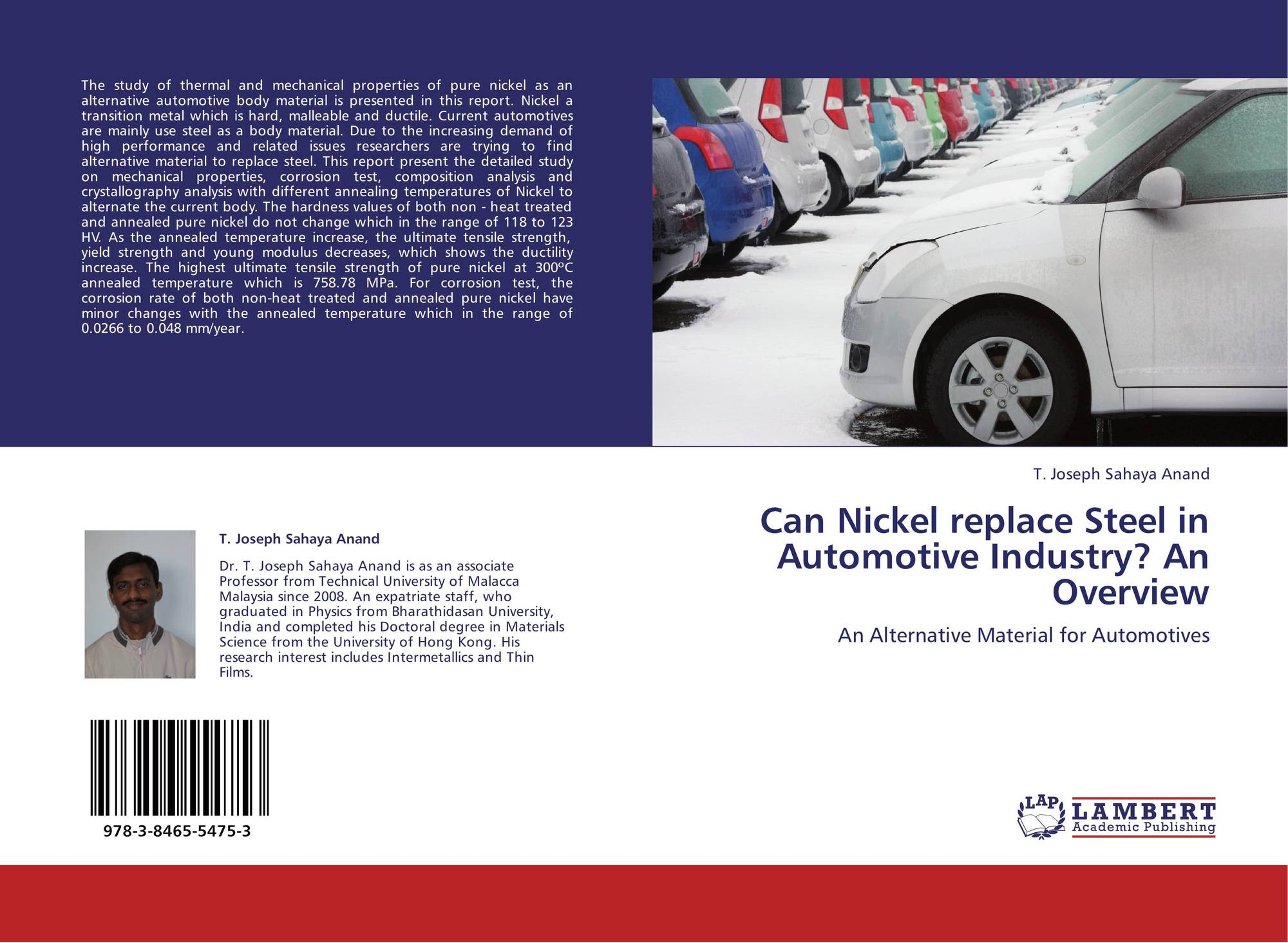 Can Nickel replace Steel in Automotive Industry? An Overview