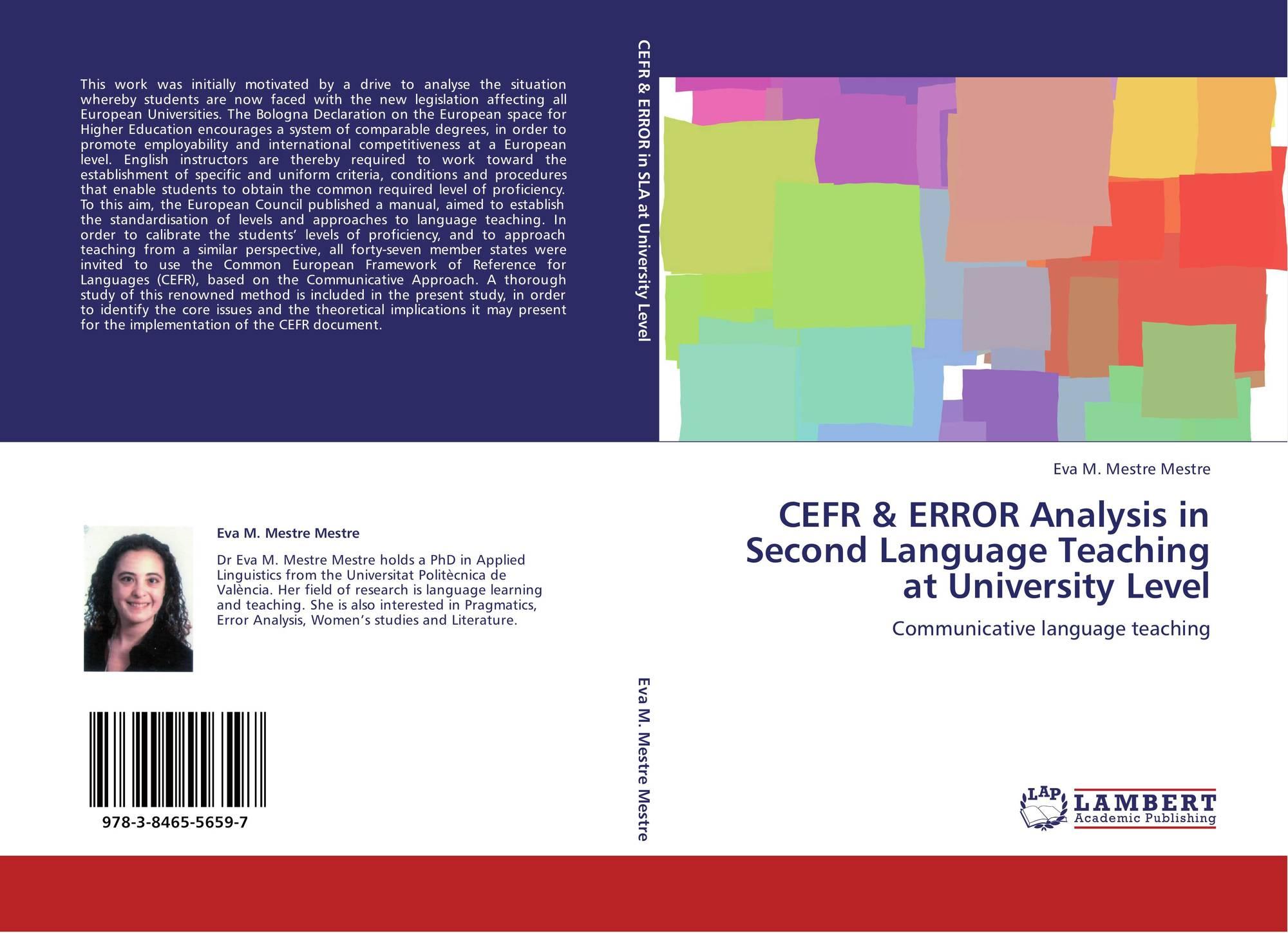 error analysis efl Teachers of english to speakers of other languages, inc(tesol) error analysis in the adult efl classroom author(s): marina k burt sourc.