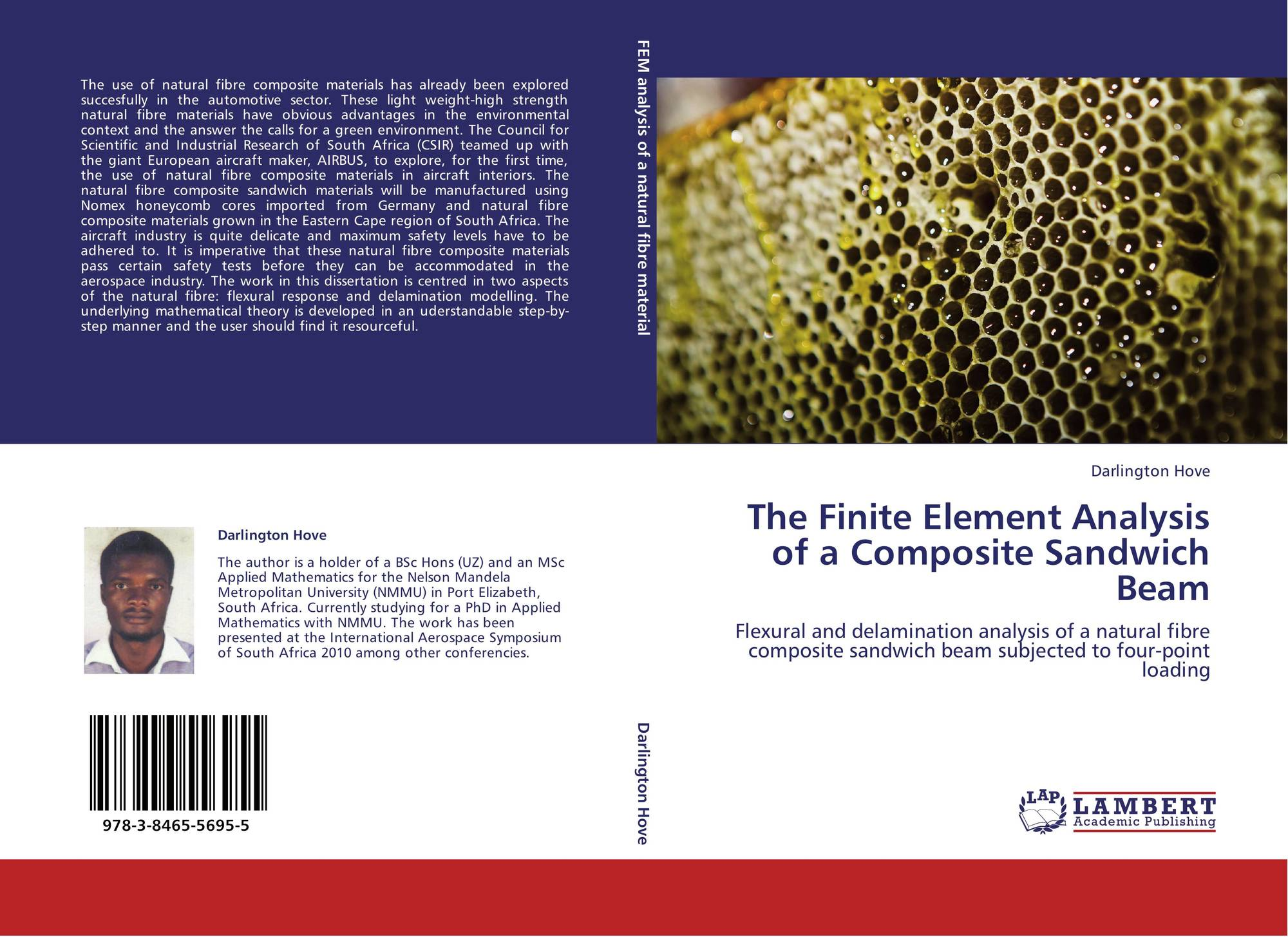 The finite element analysis of a composite sandwich beam for Finite element methode