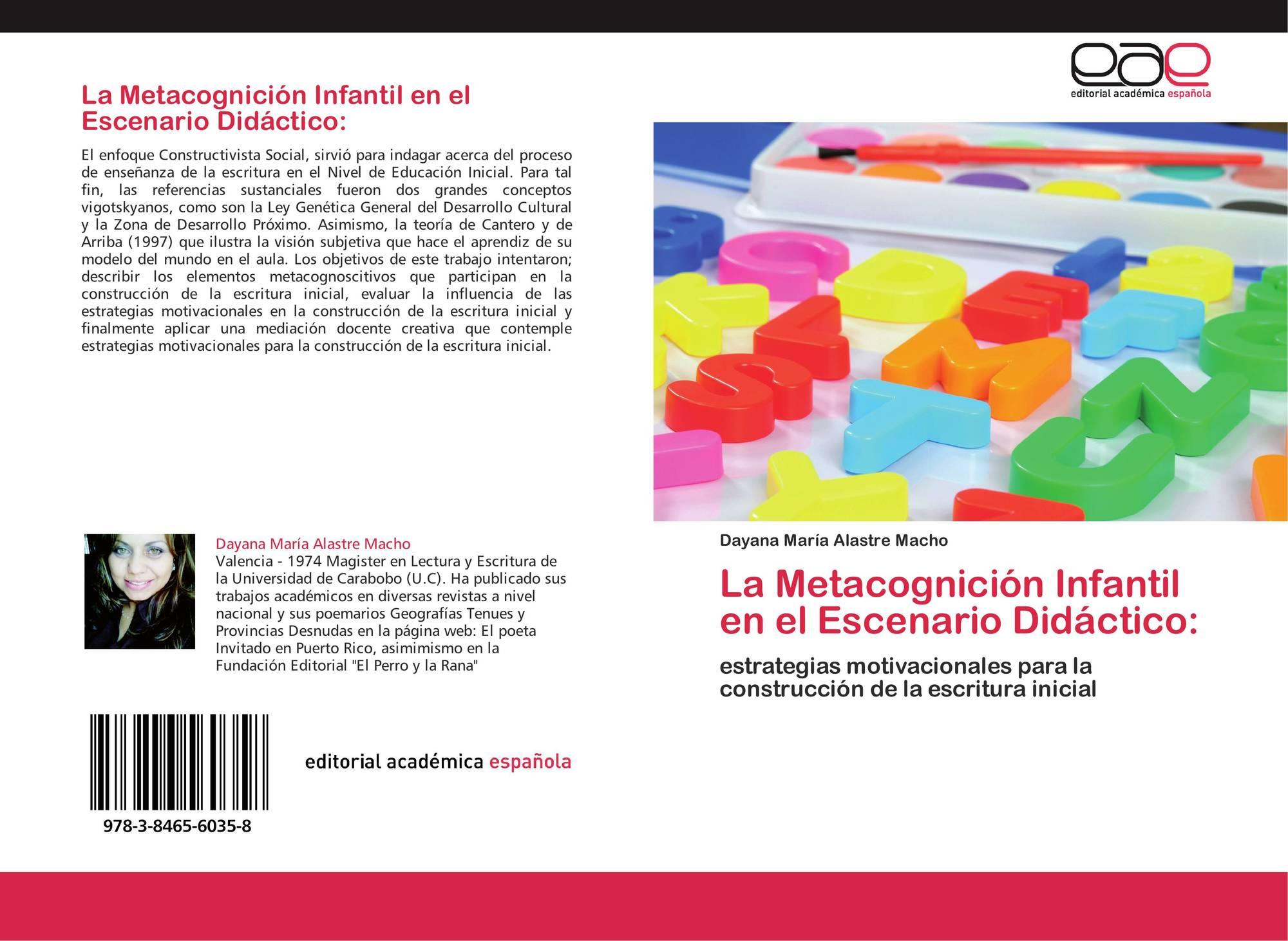 La Metacognición Infantil En El Escenario Didáctico 978 3