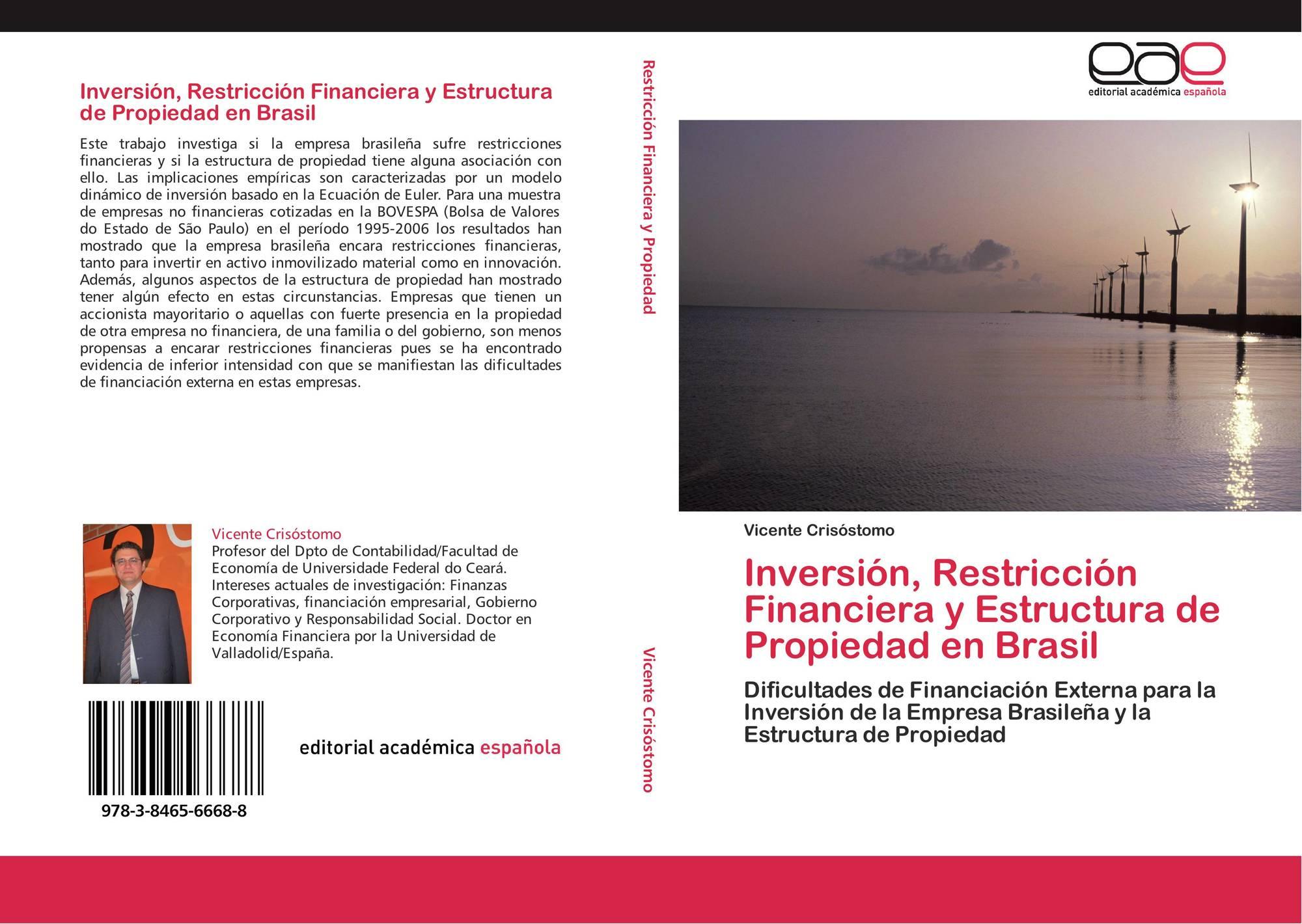 Inversión Restricción Financiera Y Estructura De Propiedad