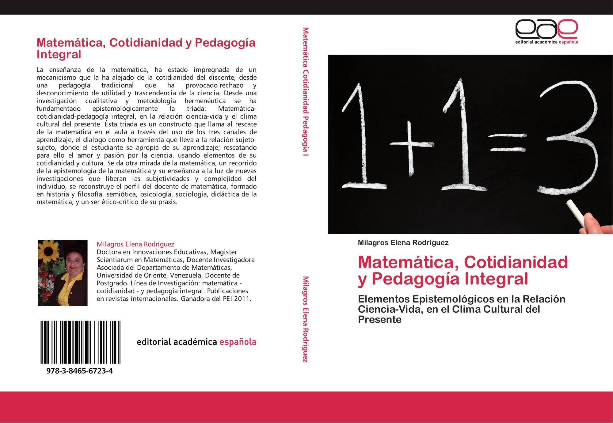 Matemática, Cotidianidad y Pedagogía Integral