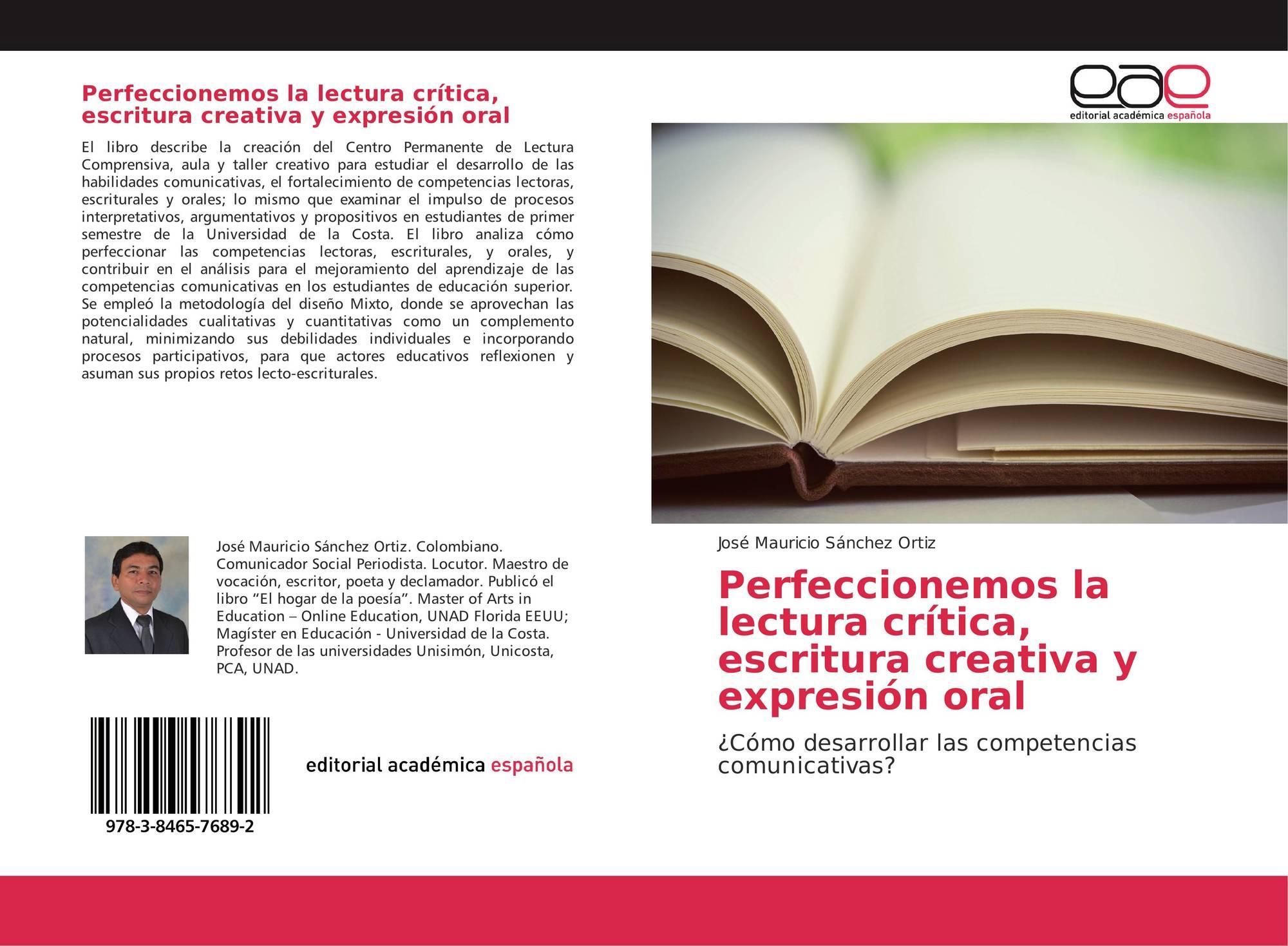 Perfeccionemos la lectura crítica, escritura creativa y expresión ...