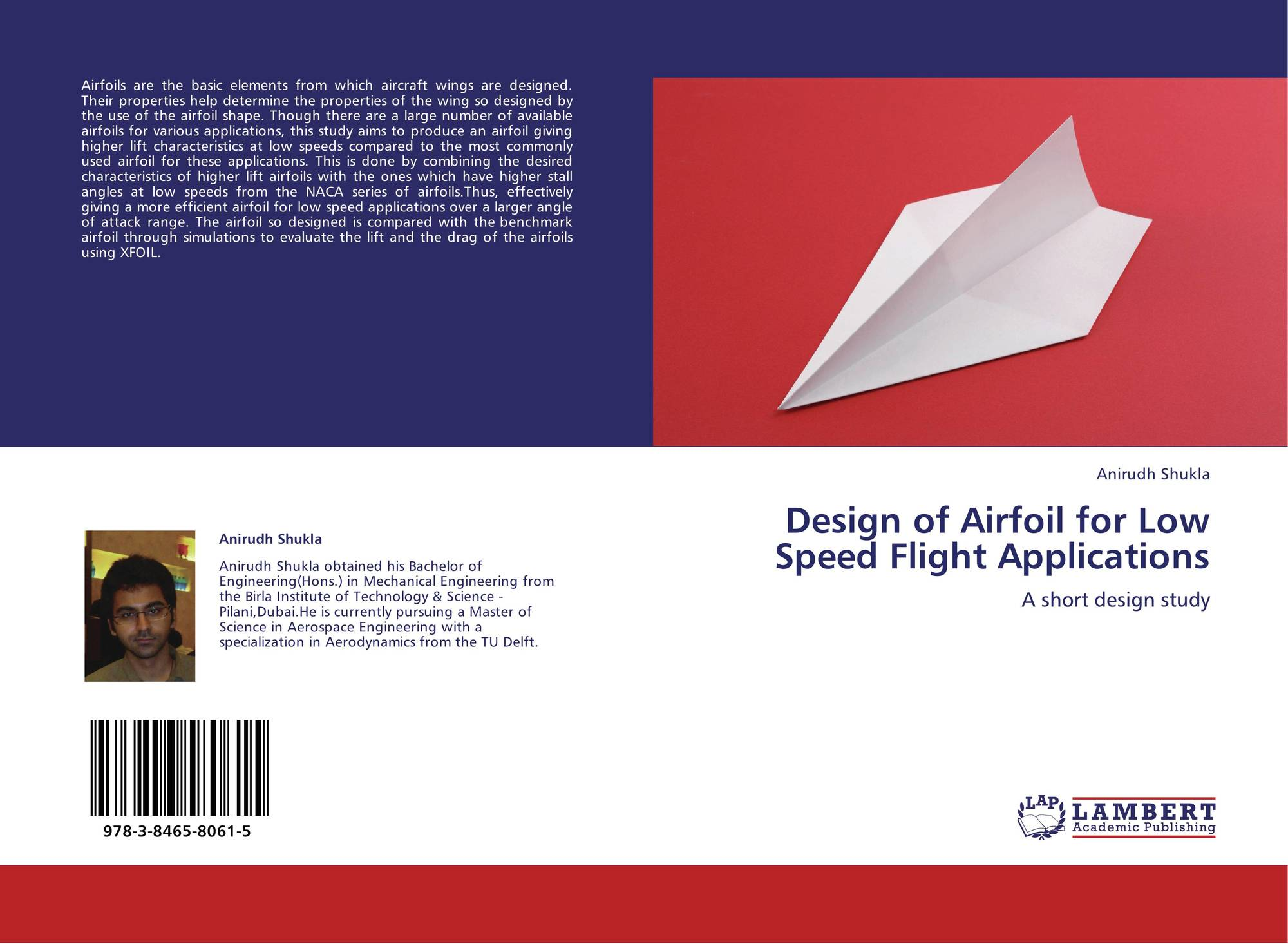 Design of Airfoil for Low Speed Flight Applications, 978-3