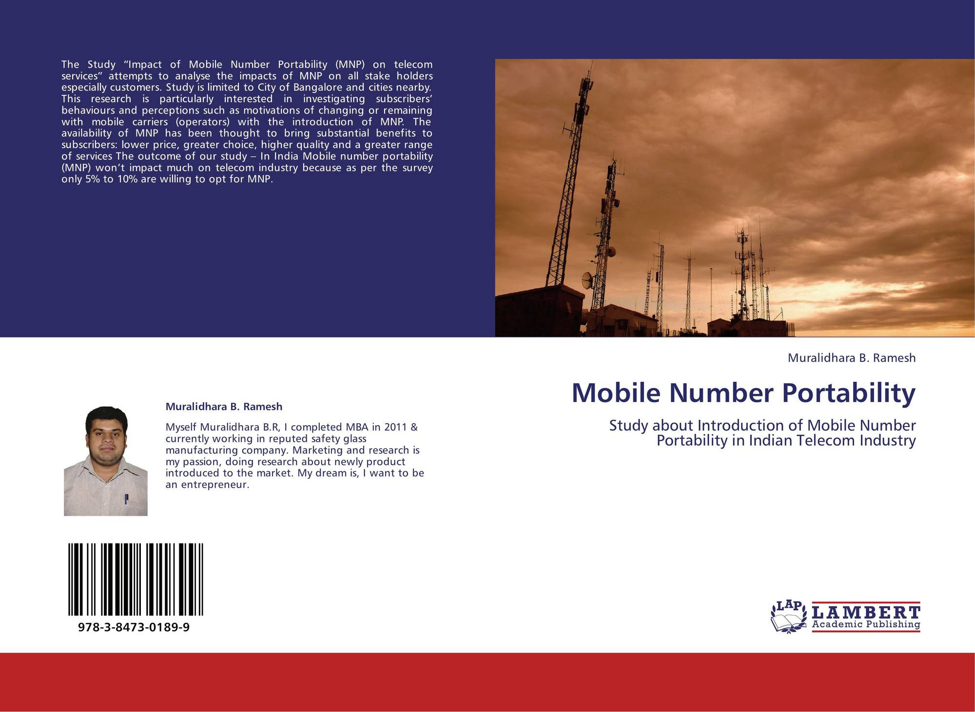 marketing research on mobile number portibility The marketing research to complete an online survey or recording the number of attempts it takes to insurance portability and.
