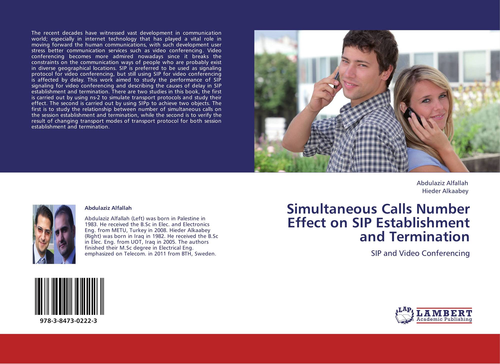 Simultaneous Calls Number Effect on SIP Establishment and