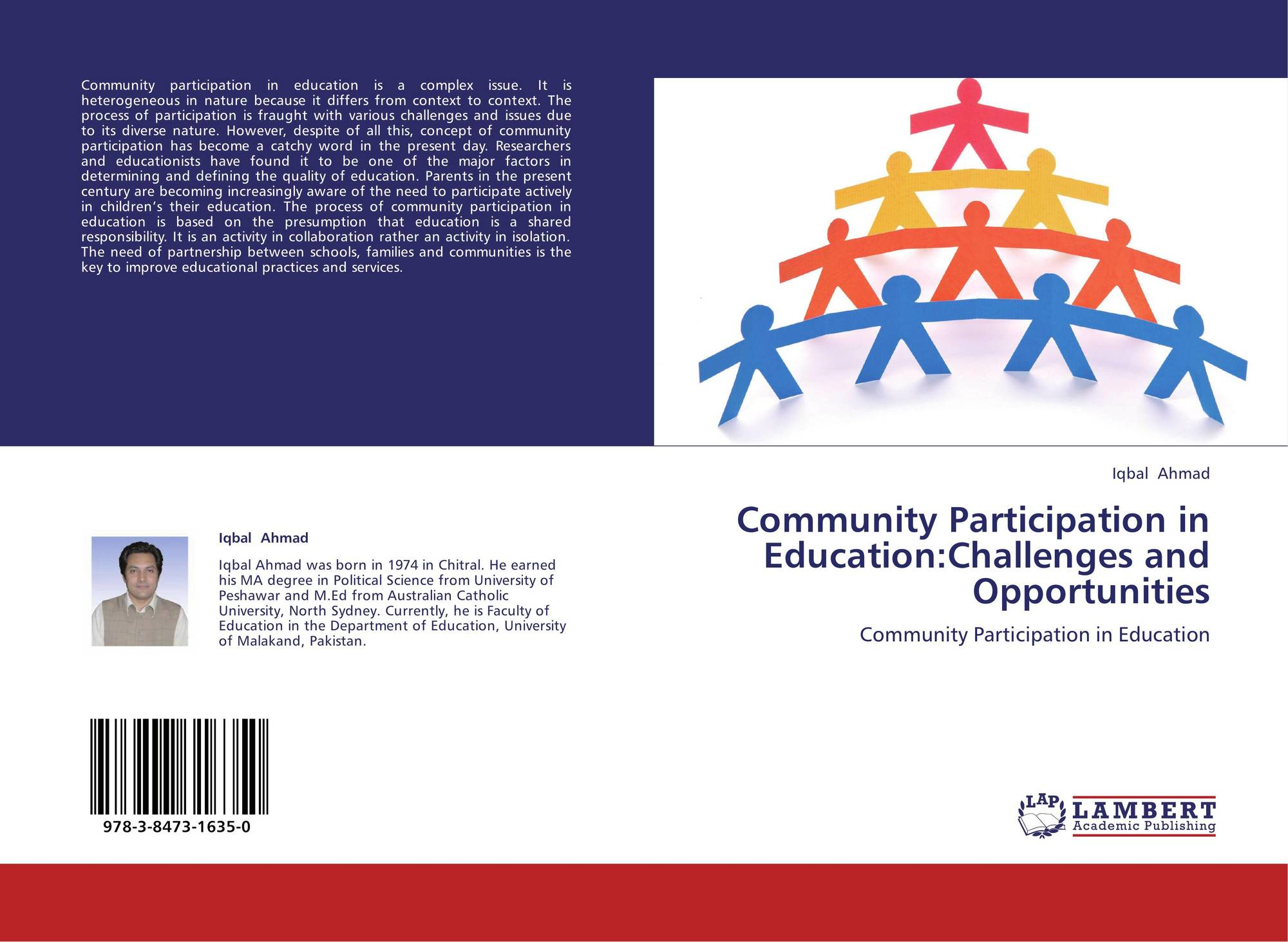 thesis on community participation in education A research thesis report submitted in partial fulfillment of the requirements for the   and find out whether parents' participation in educational activities at school   to provide resources and services for families, students, and the community.