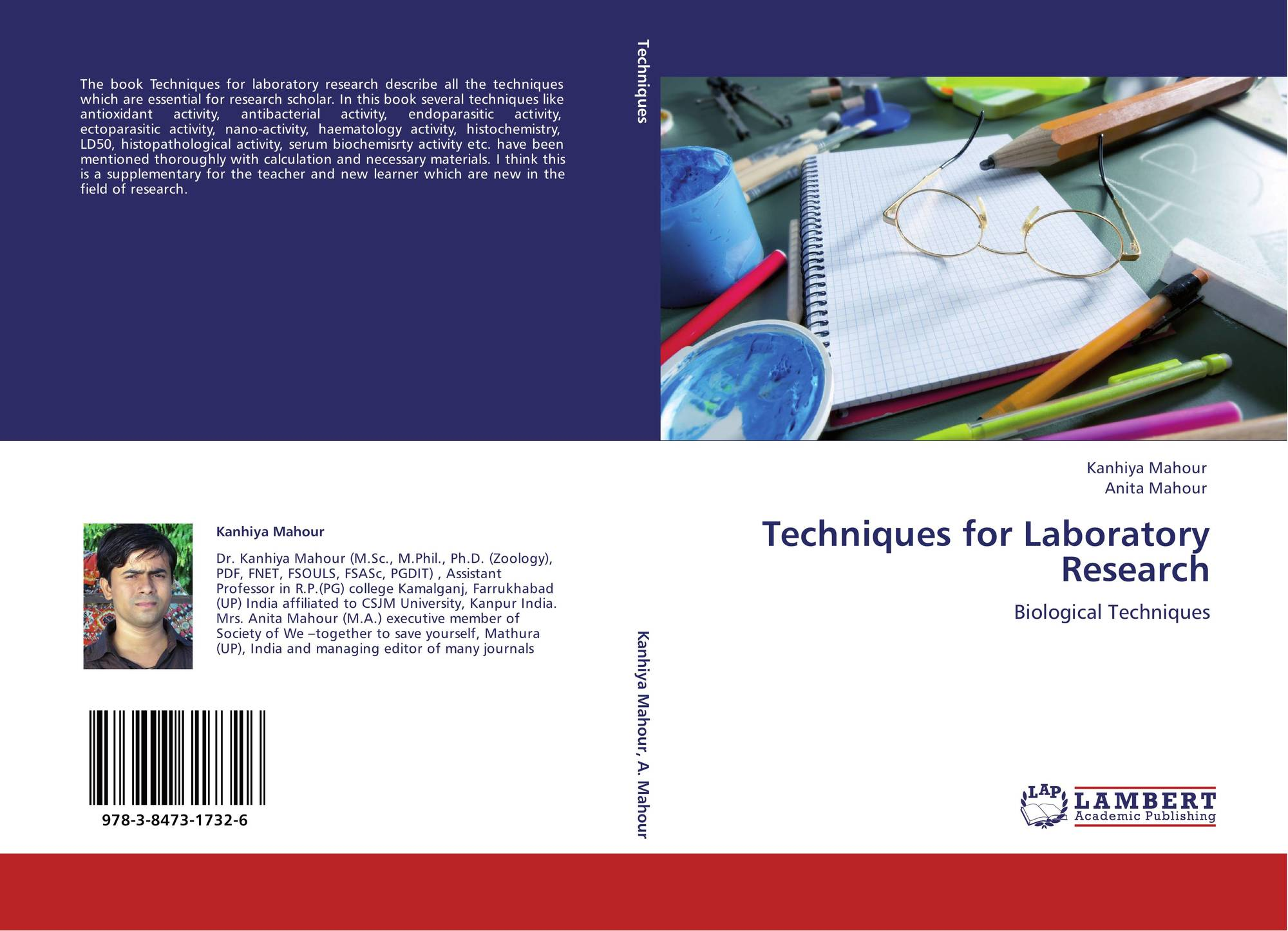 a research on laboratory techniques Created by george rice, montana state university this resource is designed to help you - read science news and research articles understand science seminars outside.