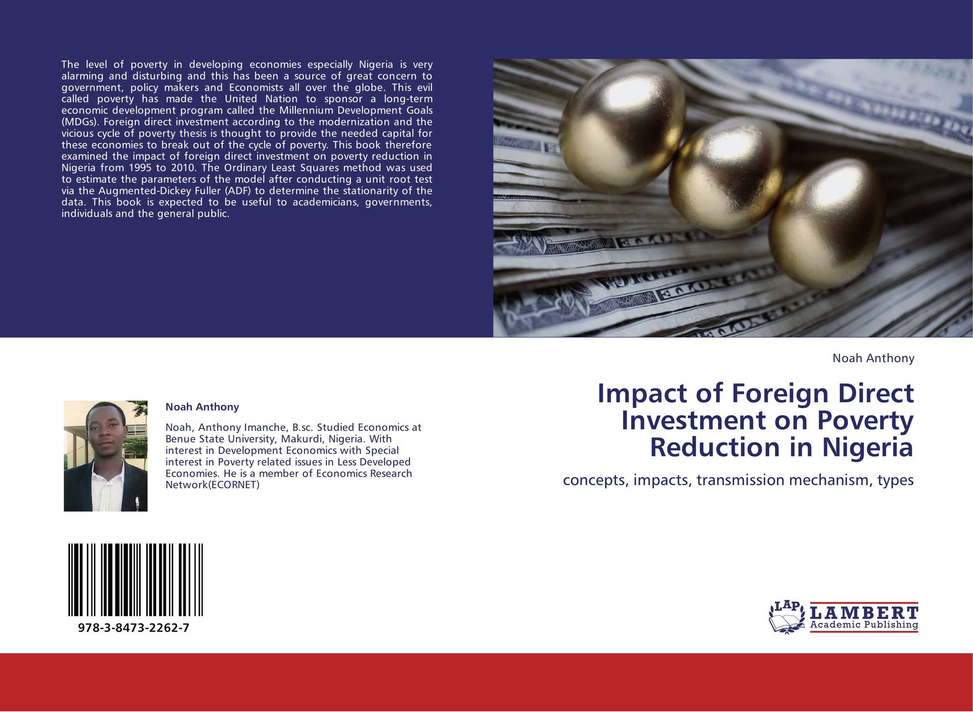 impact of fdi The study is to investigate the impact of foreign direct investment on economic growth in china during the period 1992-2003 the research is based on data indicators of level of gdp and fdi for china during this time period.