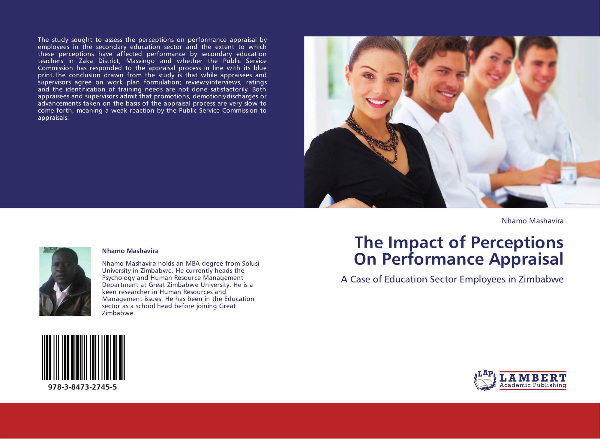 a study on perception of employee about performance appraisal effectiveness and its impact on employ Gives an employee a performance appraisal with a view of affecting the employee's self perception, and the employee's perception of the manager's ability to assess performance we examine how performance appraisals.
