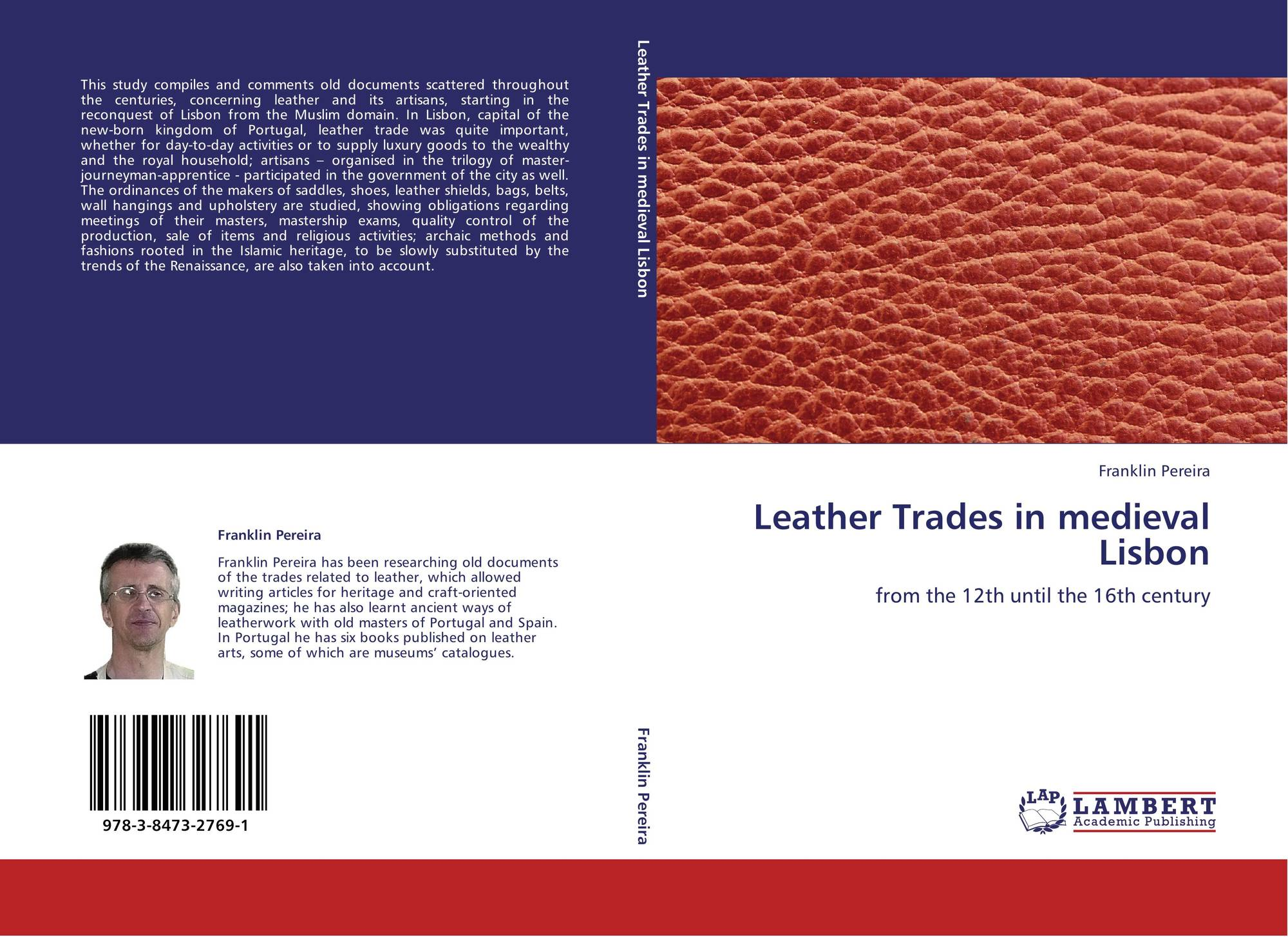 Leather Trades in medieval Lisbon, 978-3-8473-2769-1