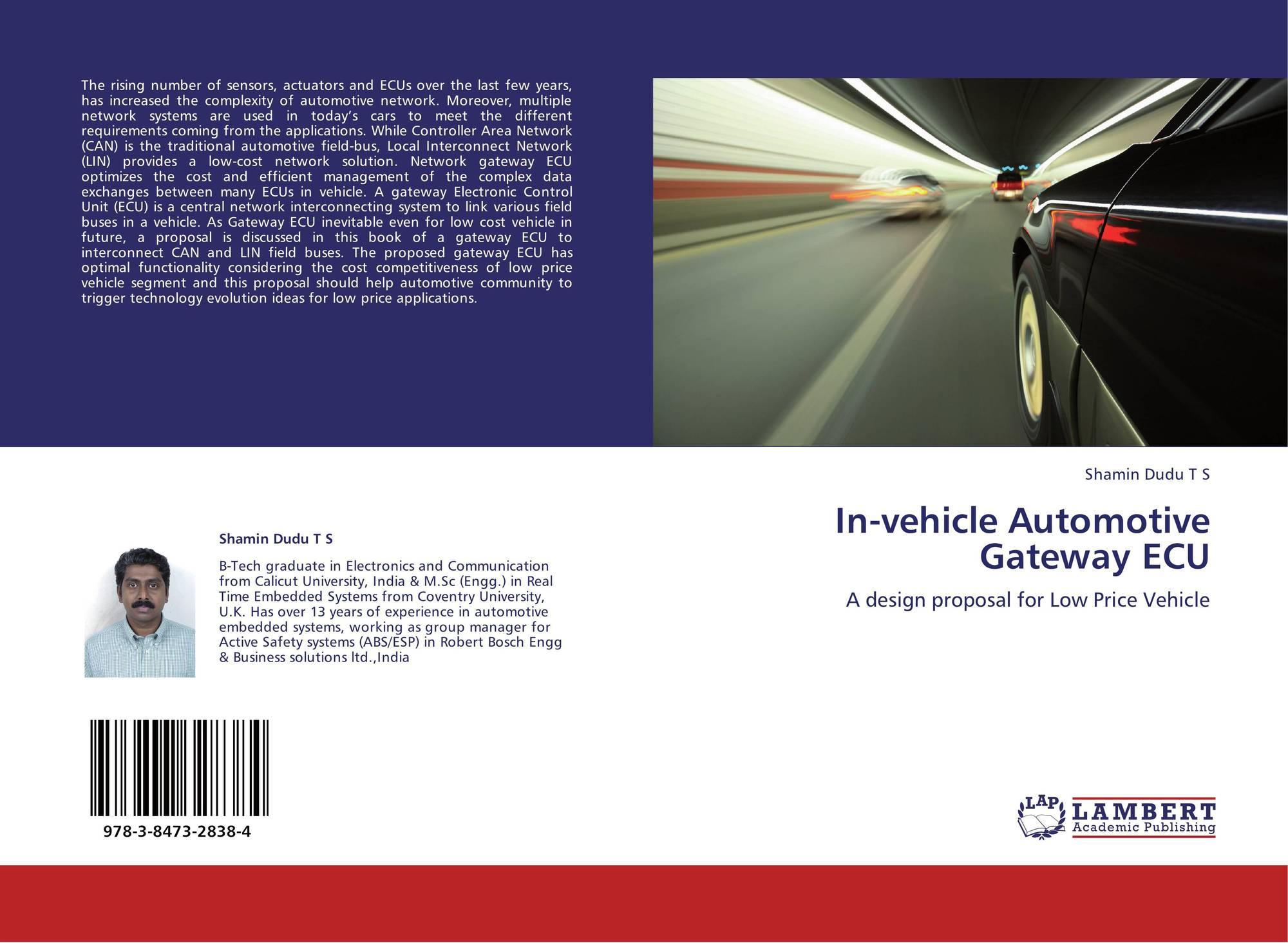 In-vehicle Automotive Gateway ECU, 978-3-8473-2838-4