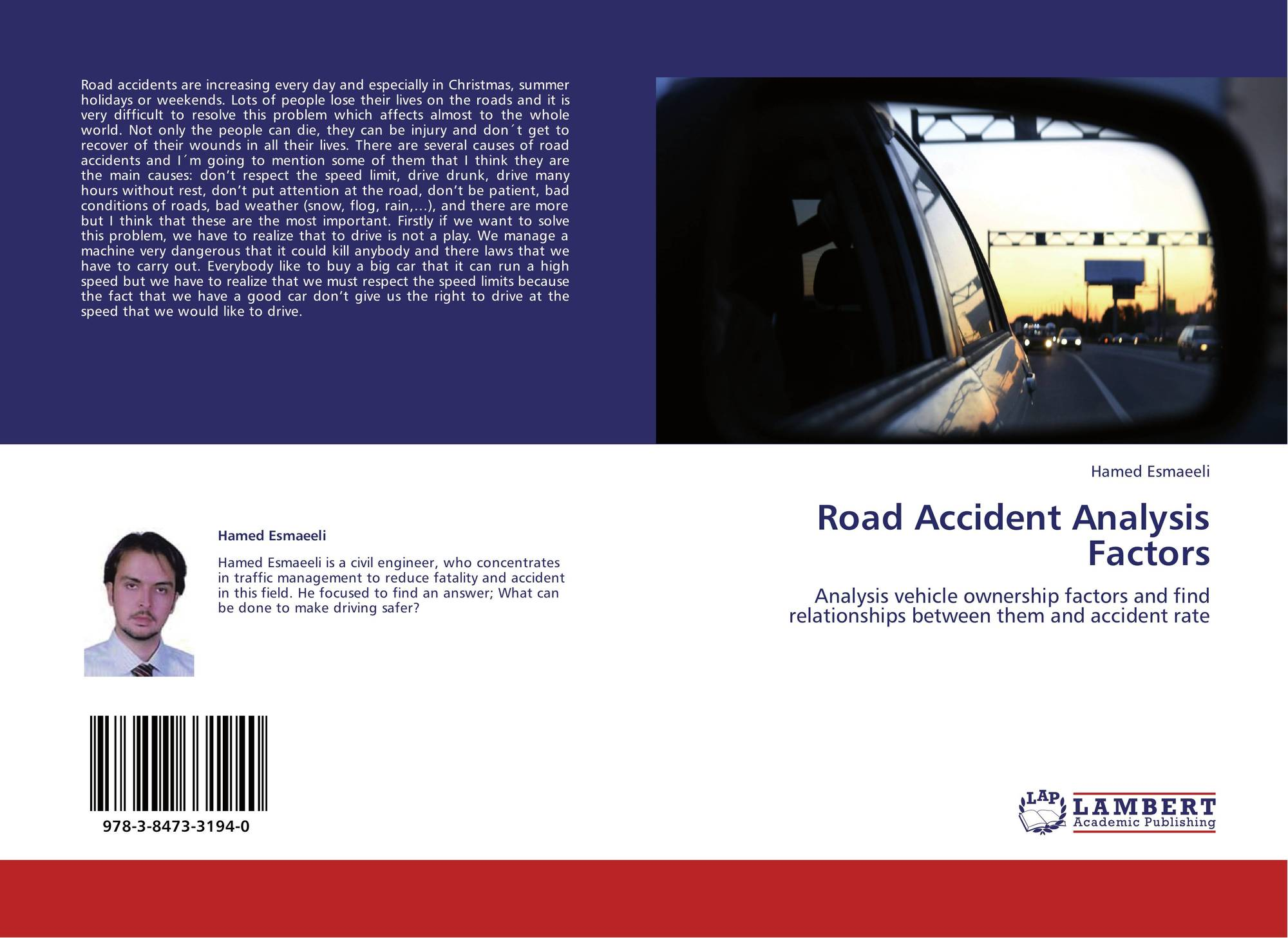 Road Accident Analysis Factors, 978-3-8473-3194-0, 3847331949 ...
