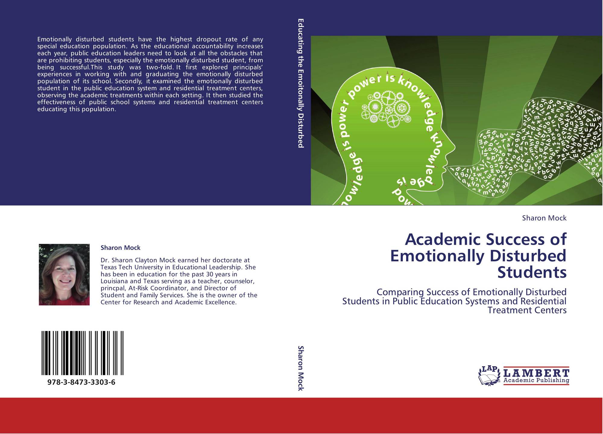 Emotionally Disturbed Students At >> Academic Success Of Emotionally Disturbed Students 978 3