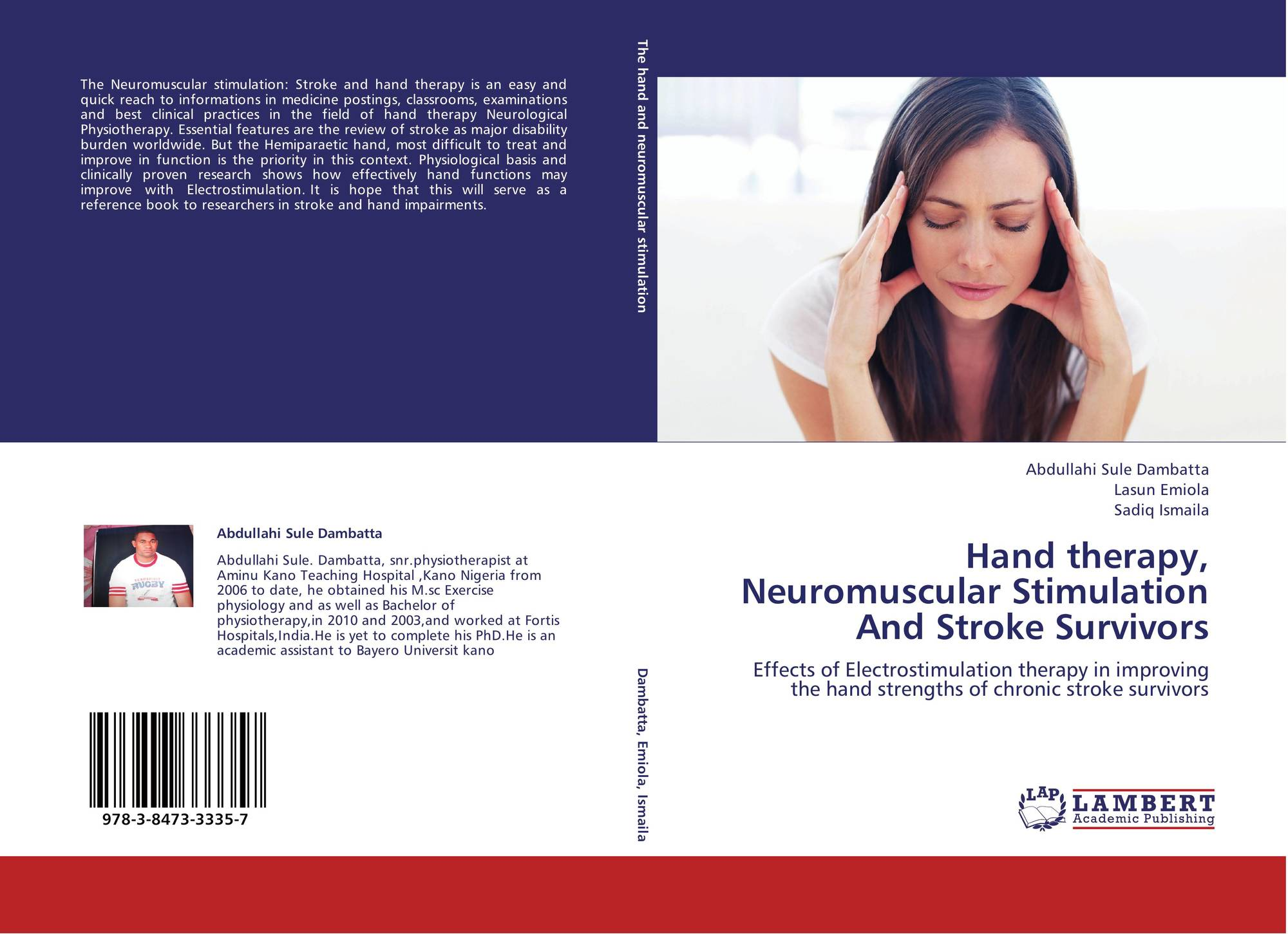 Hand therapy, Neuromuscular Stimulation And Stroke Survivors, 978-3