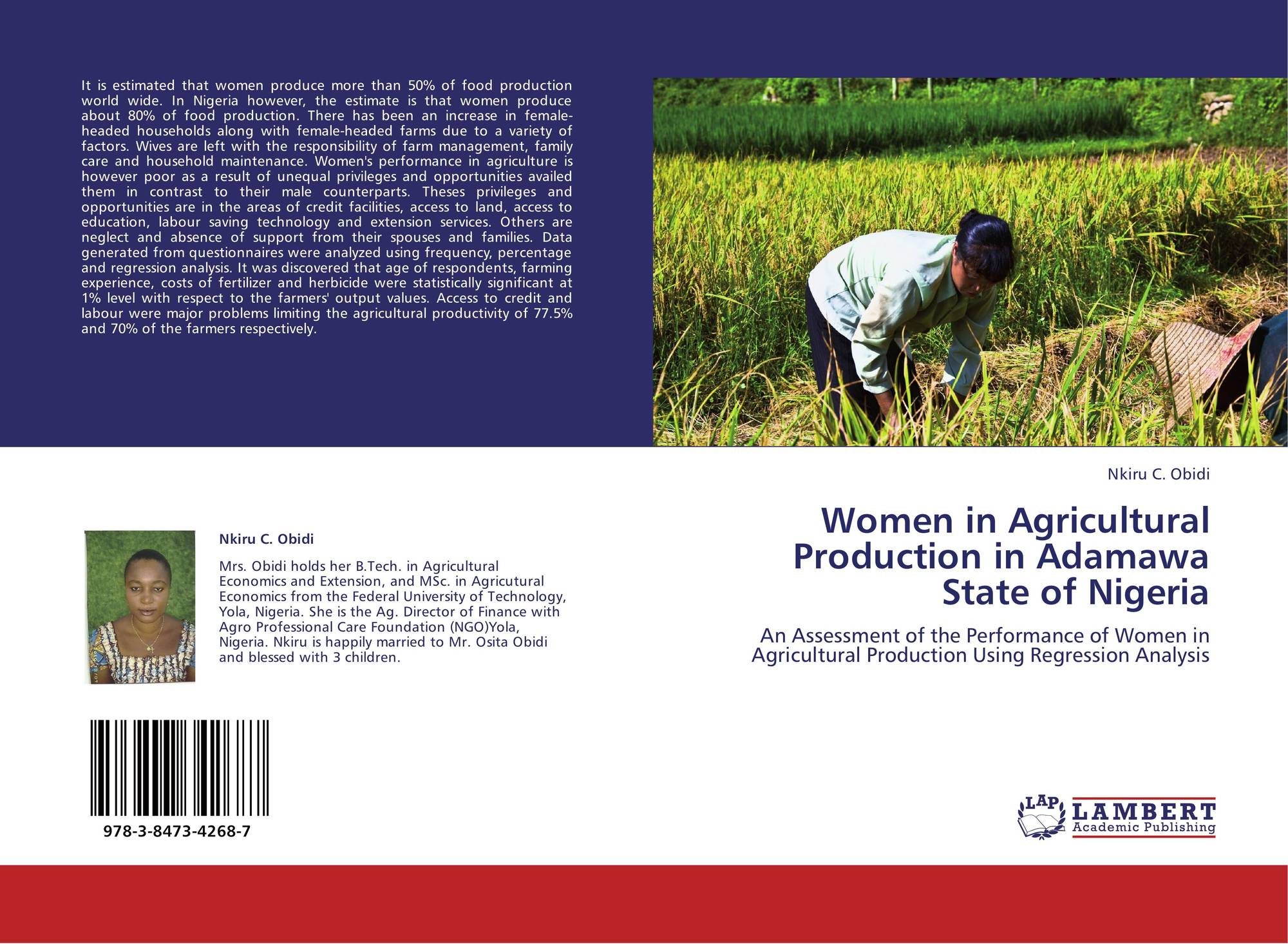 agricultural productivity thesis Projects mba-msc-pgd thesis research click here for more departments agricultural economics undergraduate project topics, research works and materials.