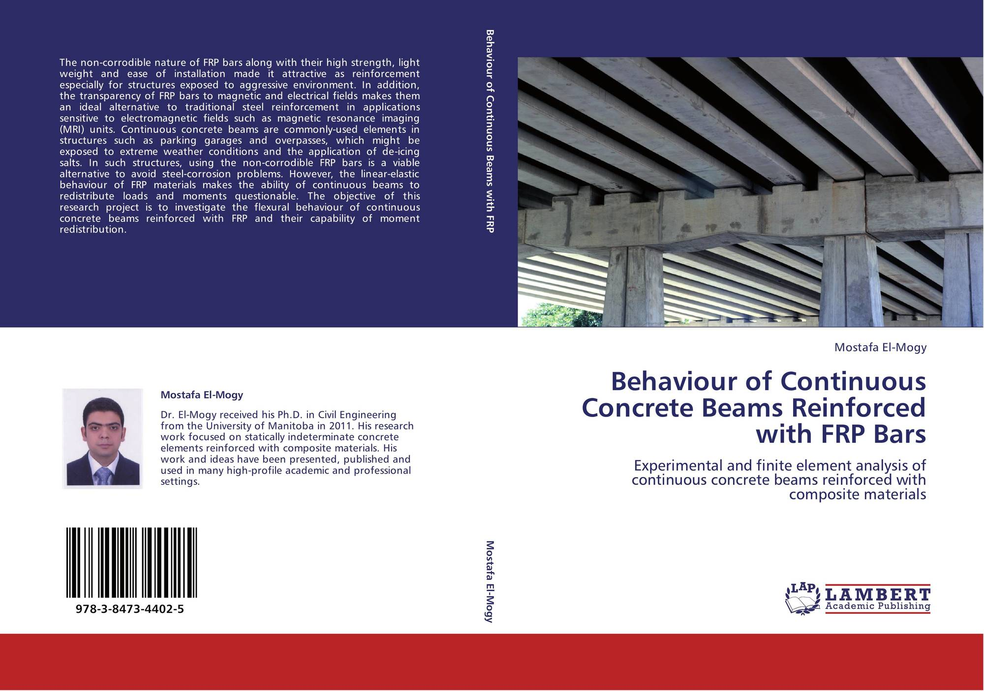 Behaviour of Continuous Concrete Beams Reinforced with FRP