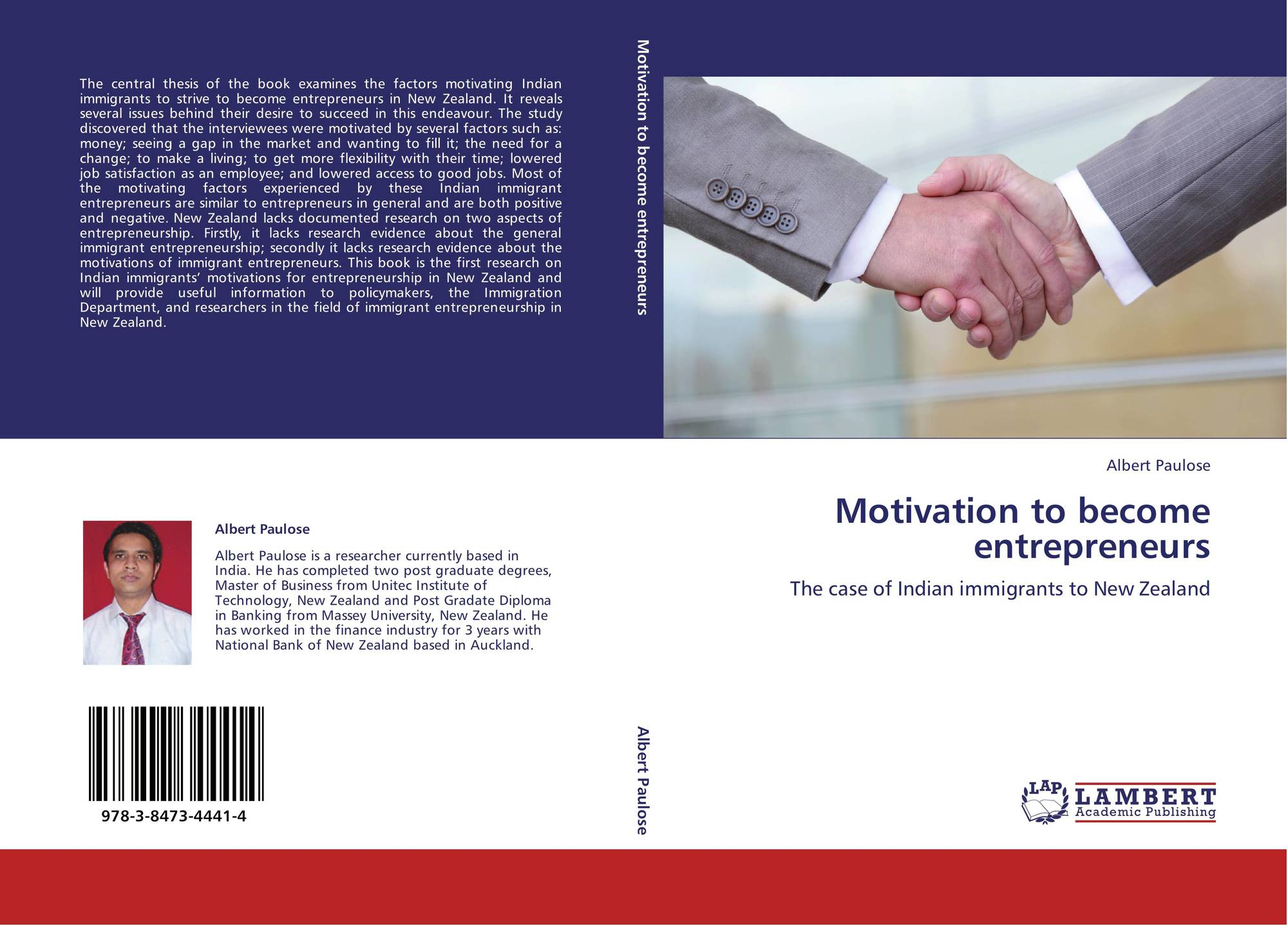 search results for motivation to become a doctor bookcover of motivation to become entrepreneurs