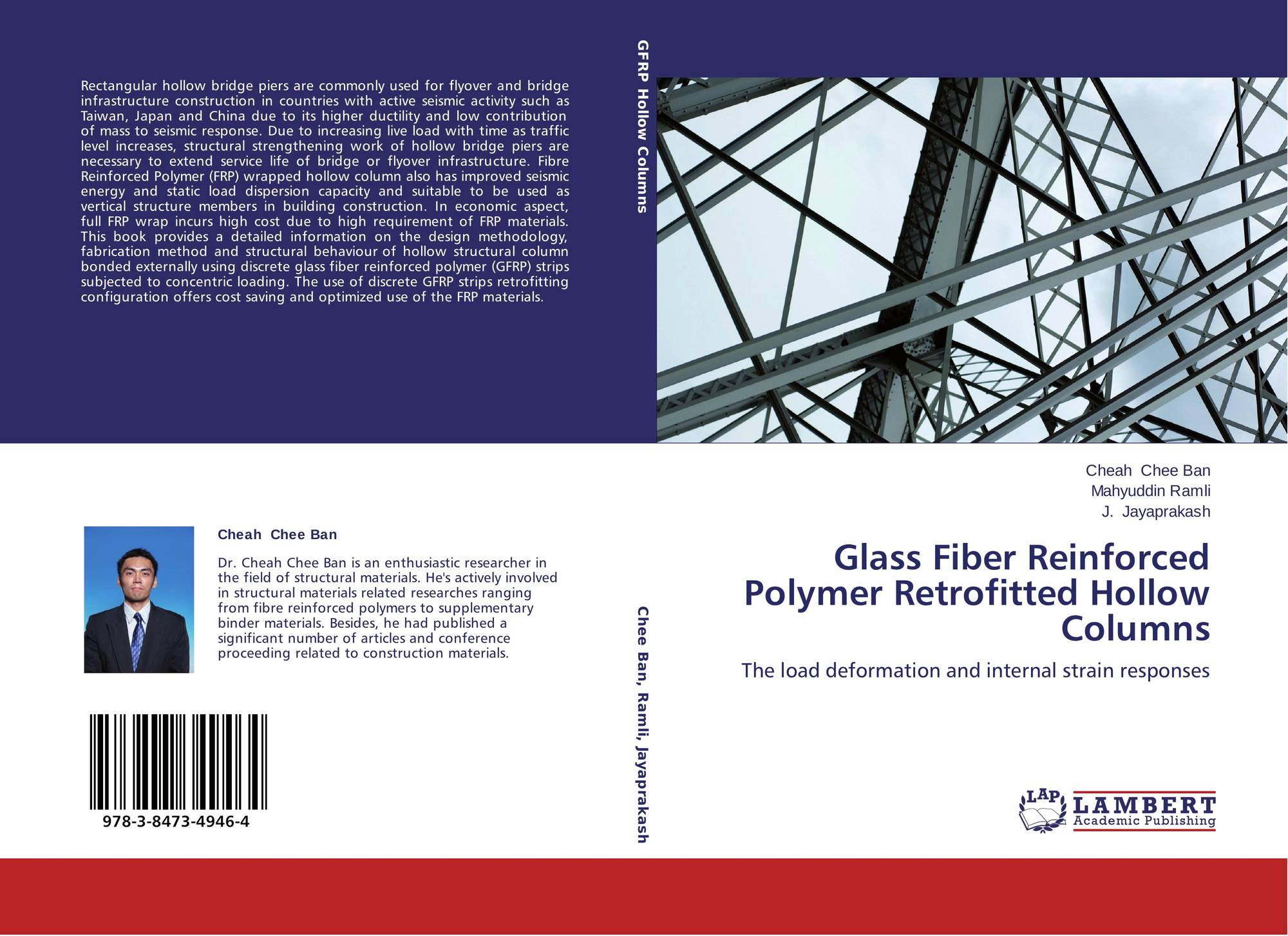 Glass Fiber Reinforced Polymer Retrofitted Hollow Columns