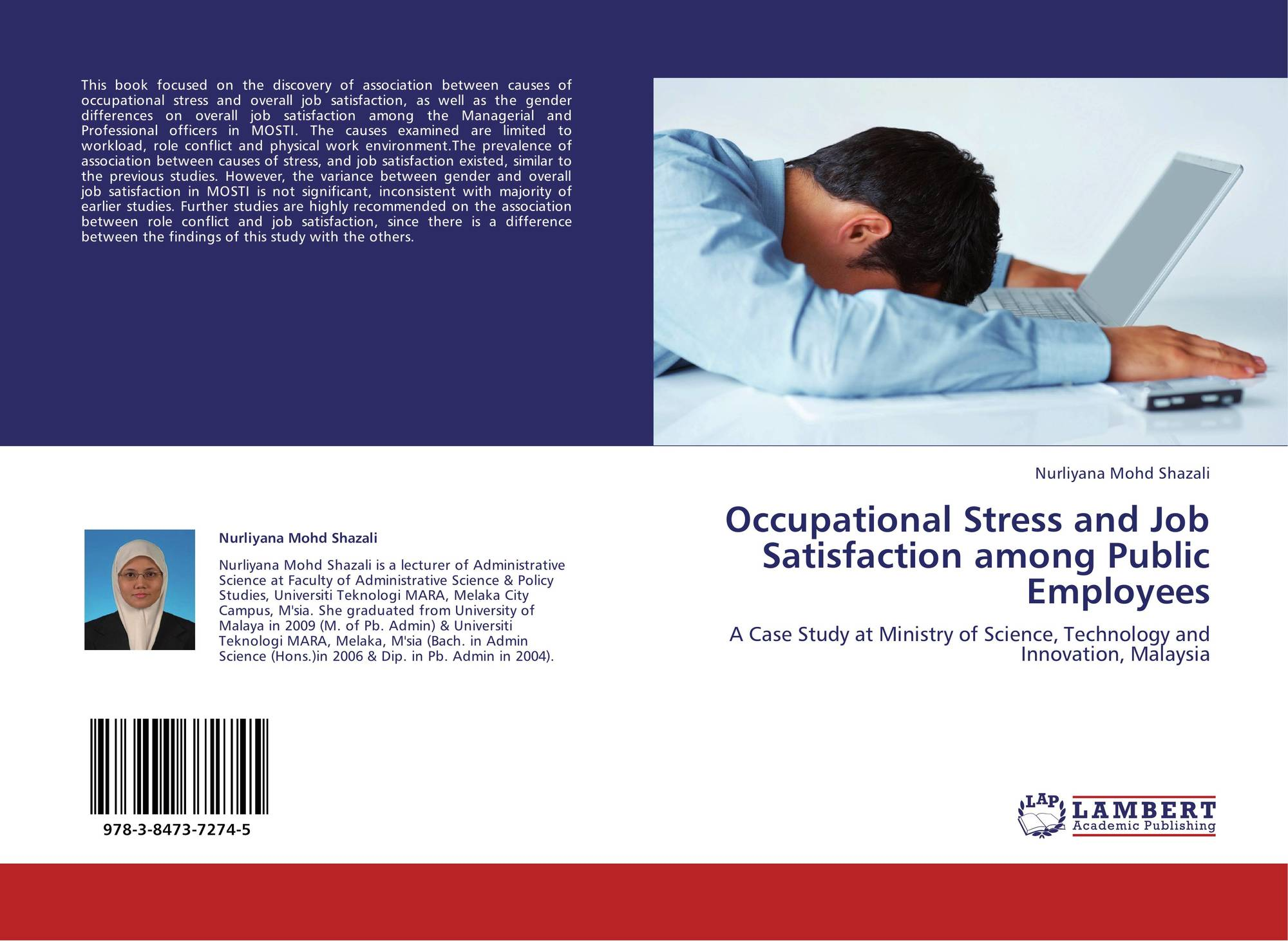 case studies on job stress In the words of westman job stress arises when demand of job exceed abilities, while job-related strains are responses or outcomes resulting from the experience of stress (westman, 2005) from mcgraw-hill science & technology dictionary work stress mean any external force that acts on the body of a worker during the performance of a task.