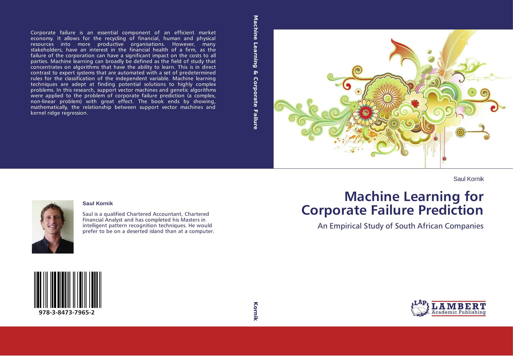 Machine Learning for Corporate Failure Prediction, 978-3
