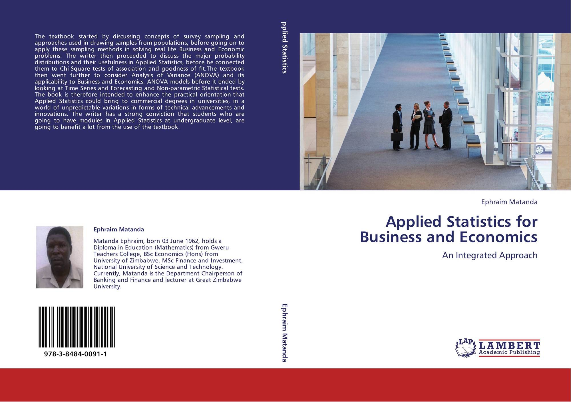 Applied Statistics for Business and Economics, 978-3-8484