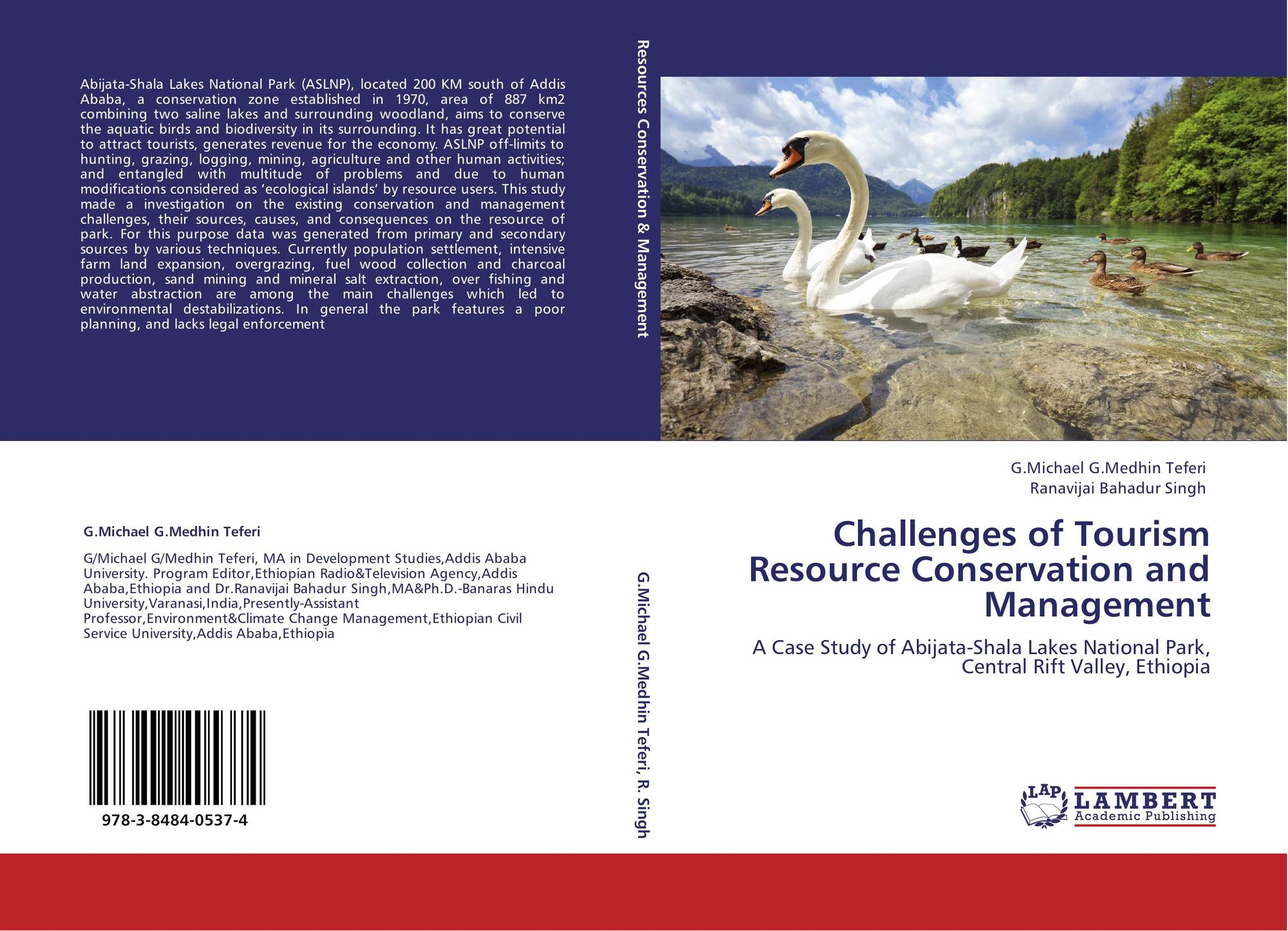 Challenges of Tourism Resource Conservation and Management, 978-3