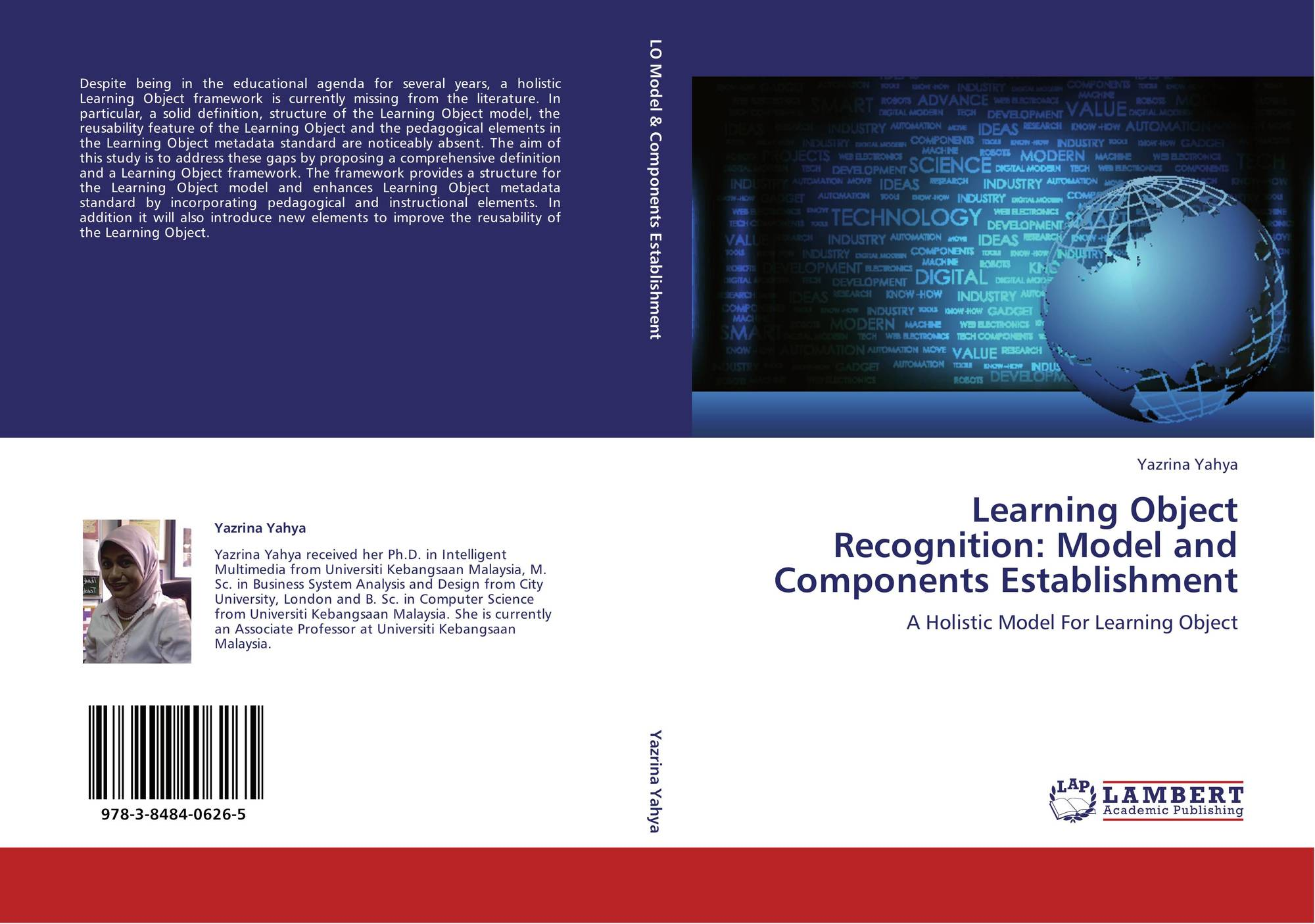 Learning Object Recognition Model And Components Establishment 978 3 8484 0626 5 3848406268 9783848406265 By Yazrina Yahya