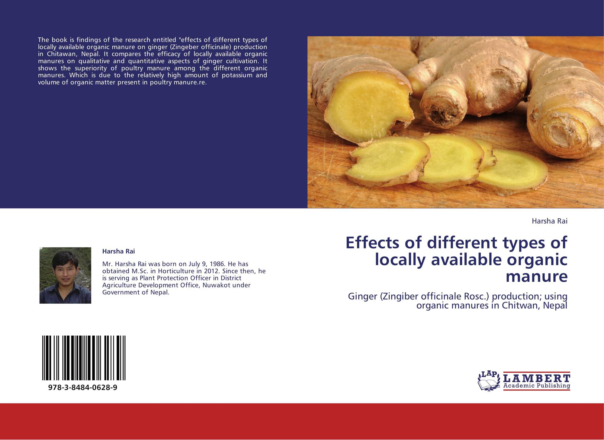 Effects of different types of locally available organic
