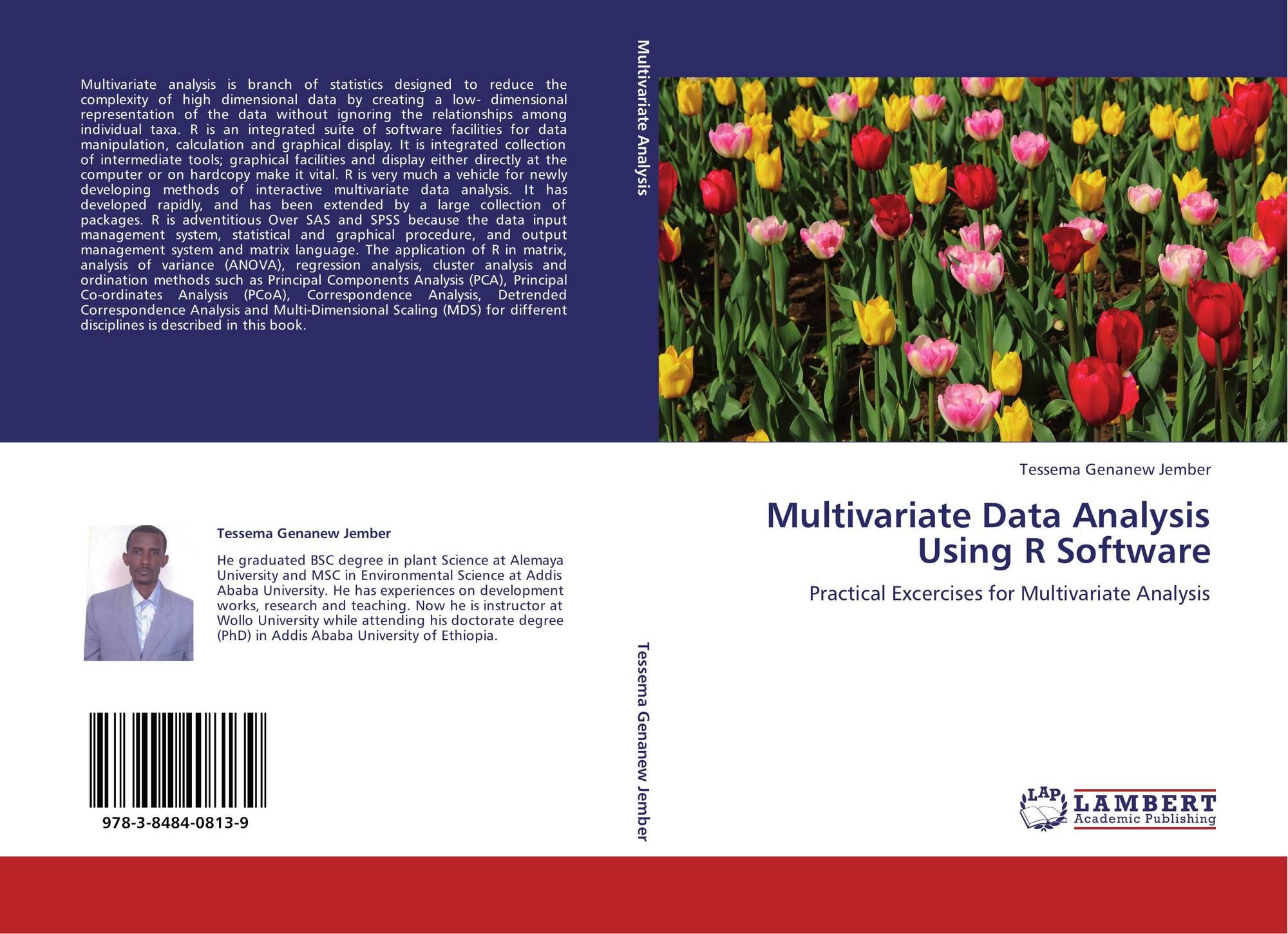 Multivariate Data Analysis Using R Software, 978-3-8484-0813
