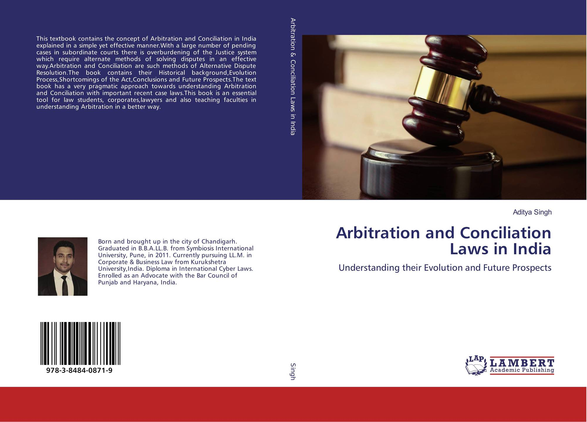 Couverture De Arbitration And Conciliation Laws In India
