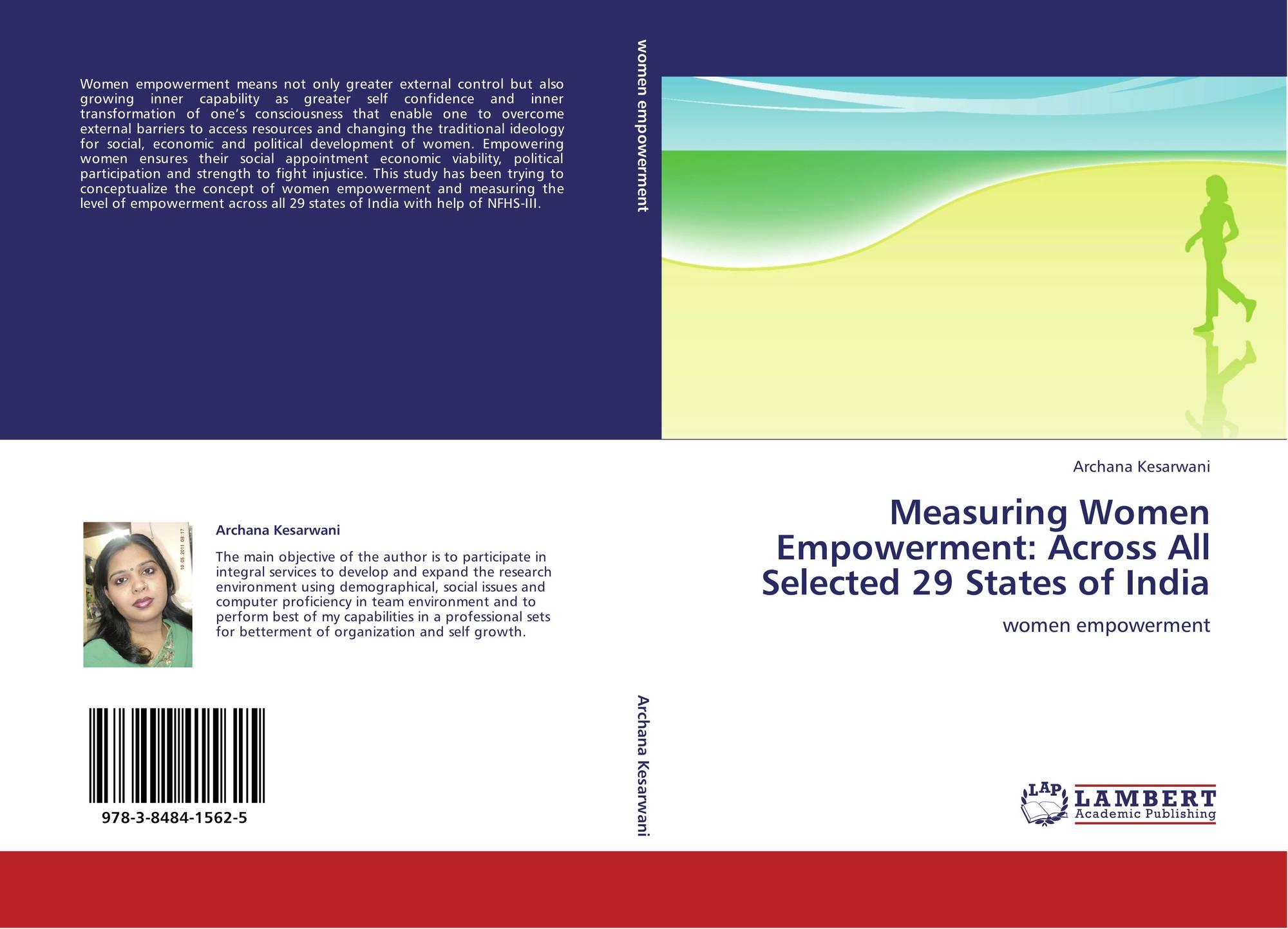 parameters of measuring women economic empowerment