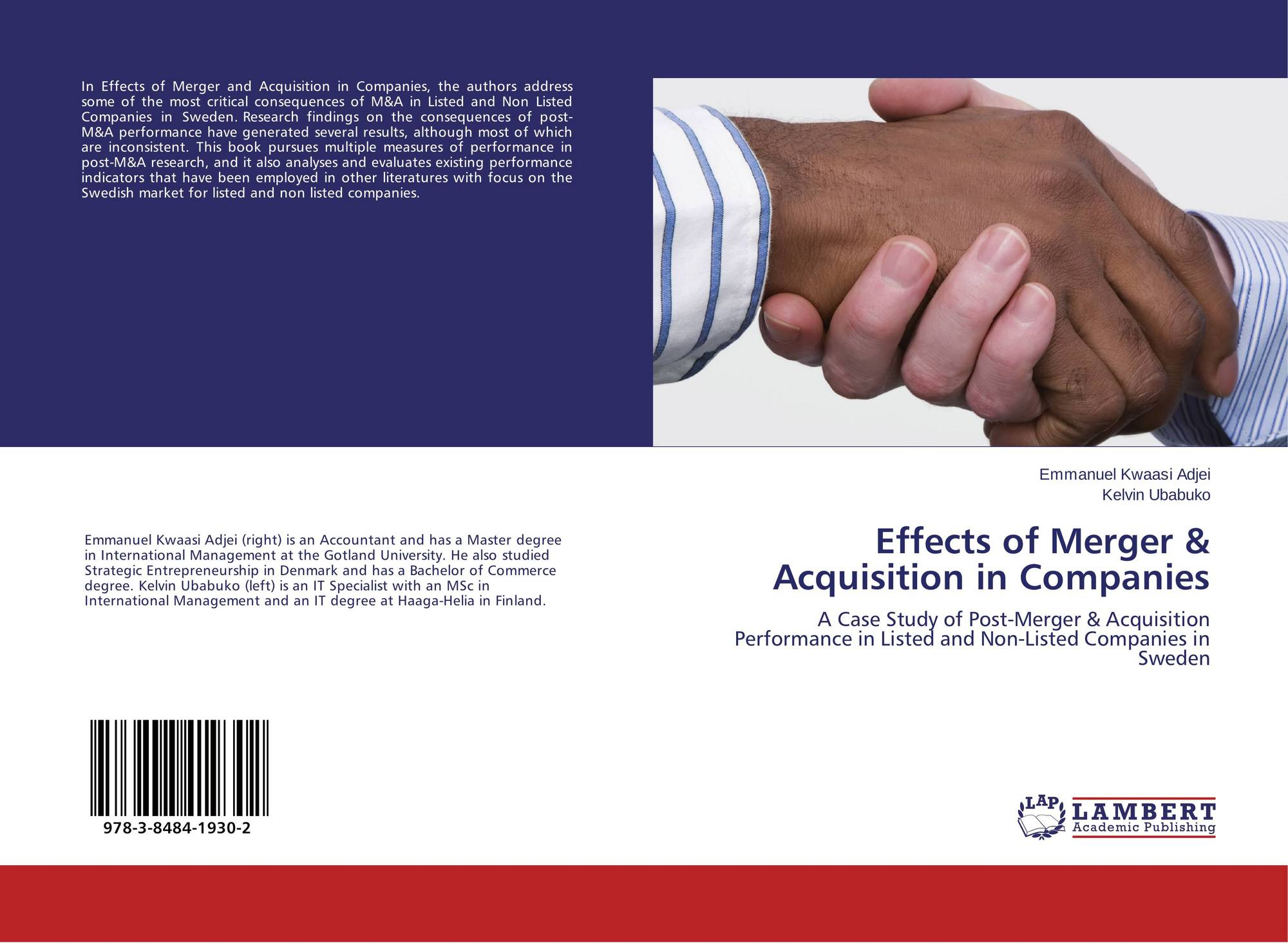 mergers and acquisitions in indan industry Page | 111 eurasian journal of business and economics 2010, 3 (5), 111-126 mergers, acquisitions and firms' performance: experience of indian pharmaceutical industry.