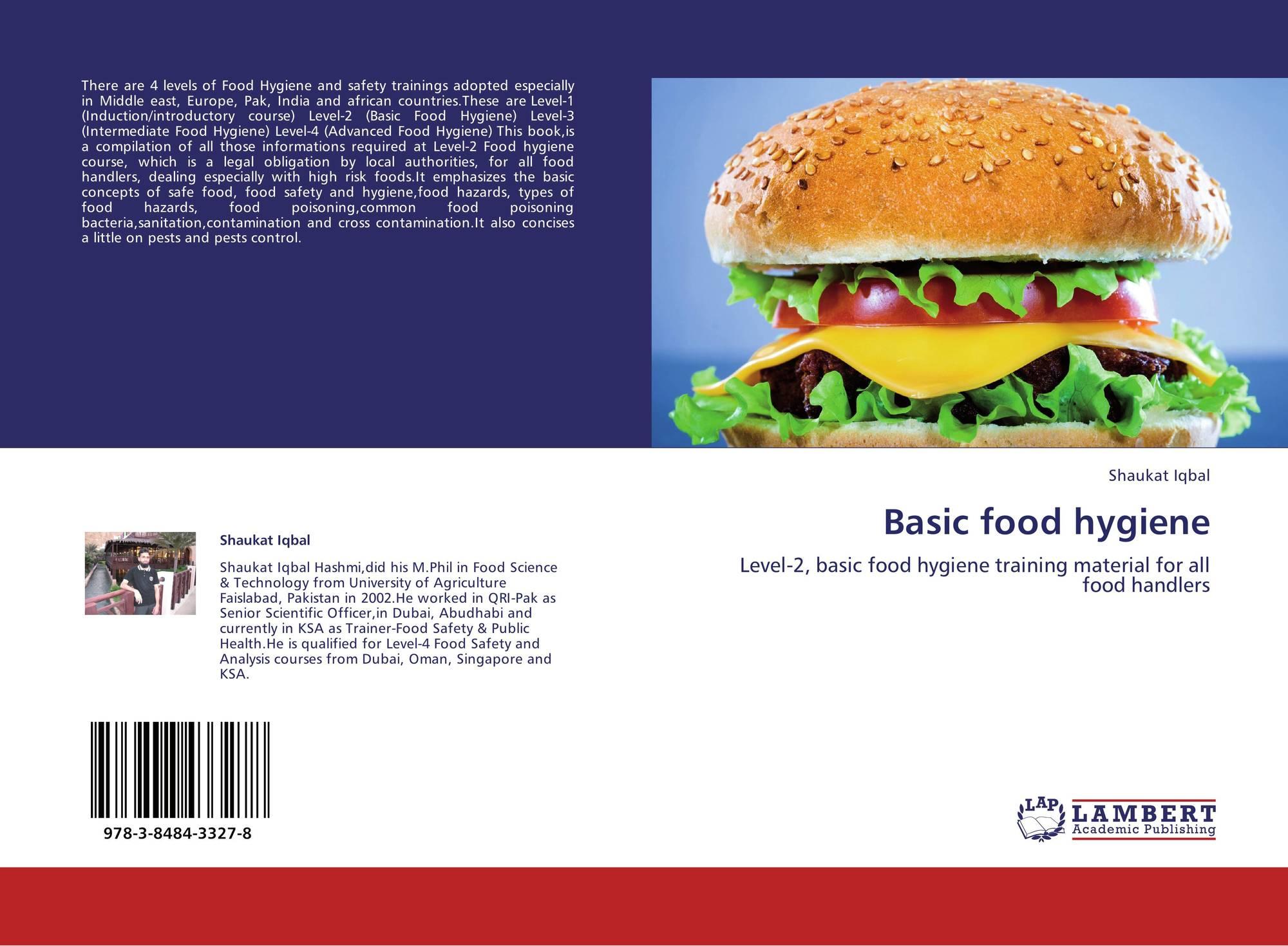 Basic Food Hygiene 978 3 8484 3327 8 3848433273