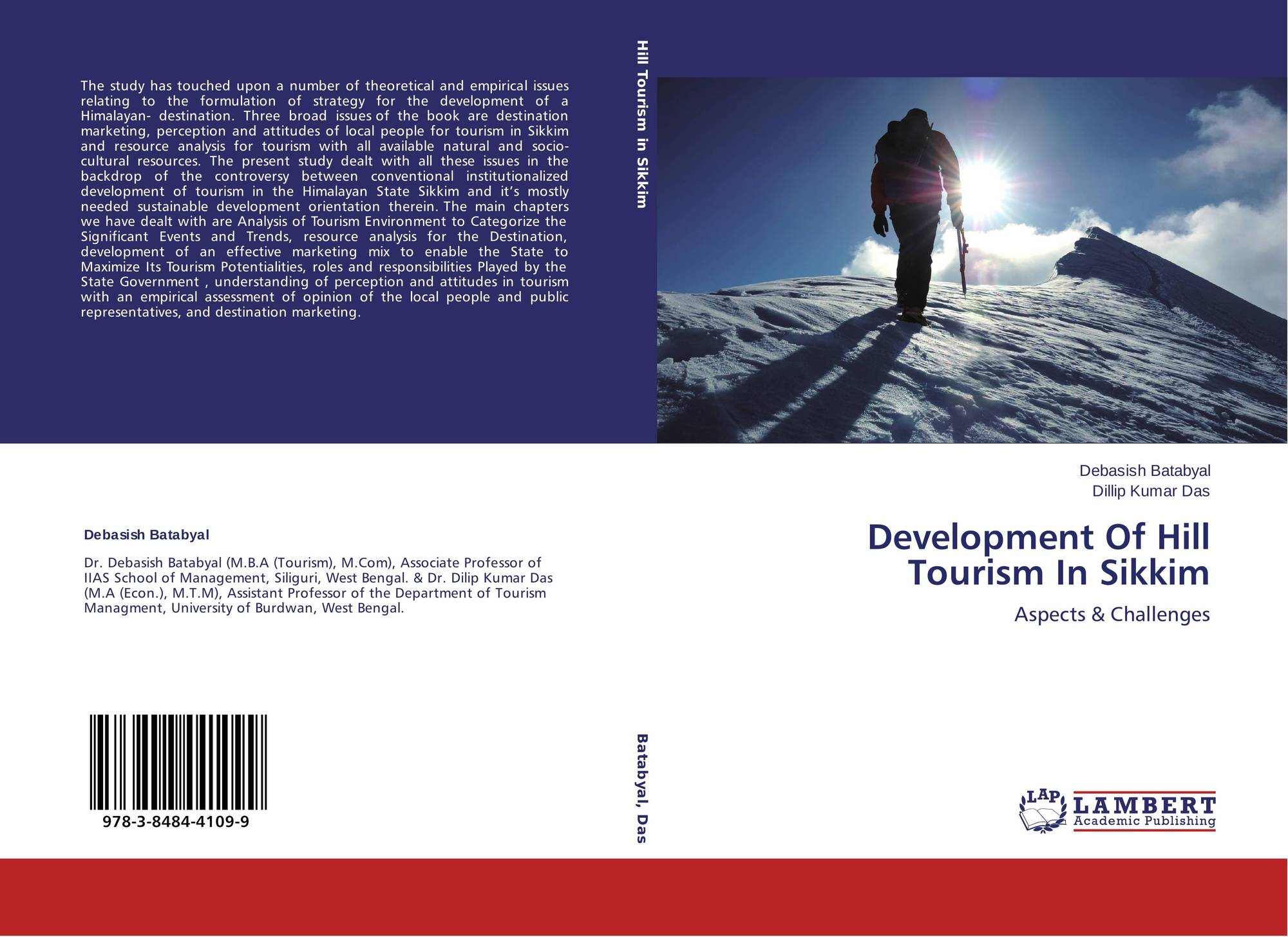 tourism development in sikkim essay In other words, tourism offers imperative contributions for development in the country, as tourism is an element of development strategy (ozbey, 2002) tourism industry's extensive involvements to national economy are a known reality.