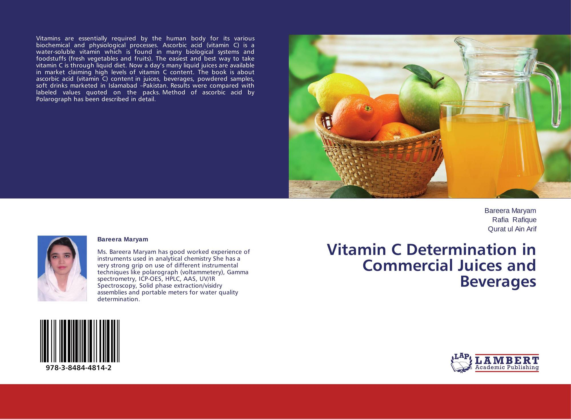 Vitamin C Determination in Commercial Juices and Beverages
