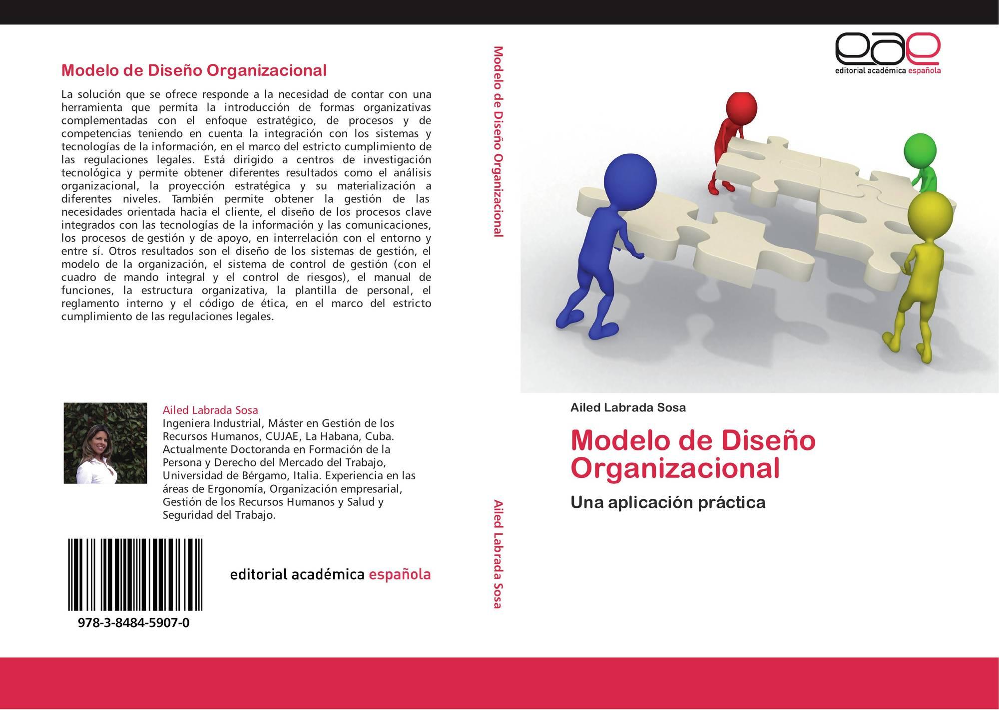 Modelo de Diseño Organizacional, 978-3-8484-5907-0, 3848459078 ...