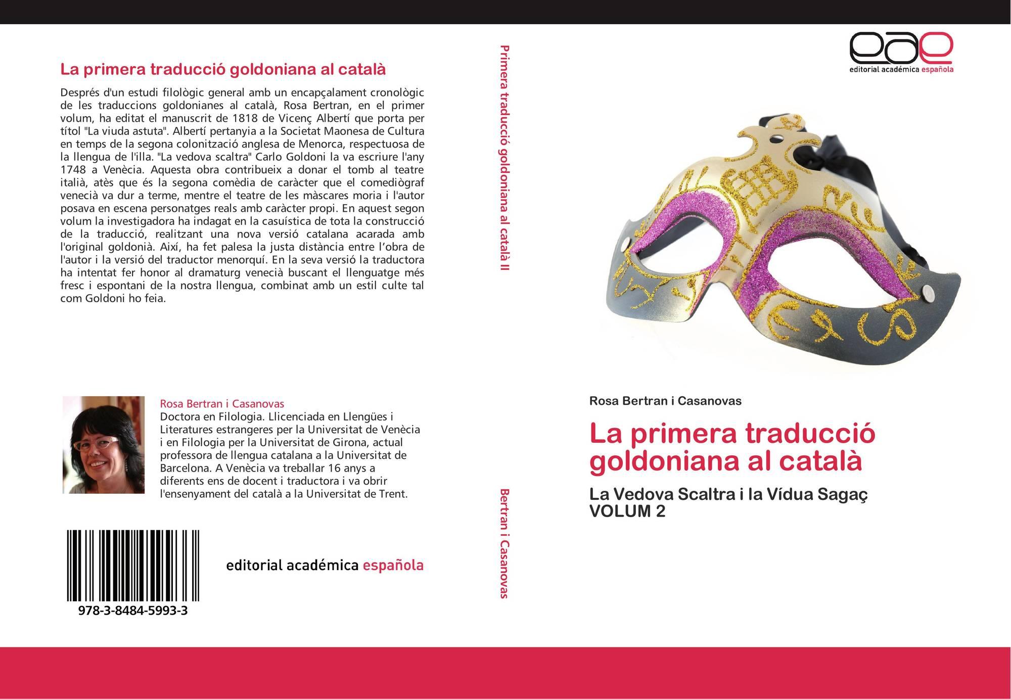La primera traducció goldoniana al català