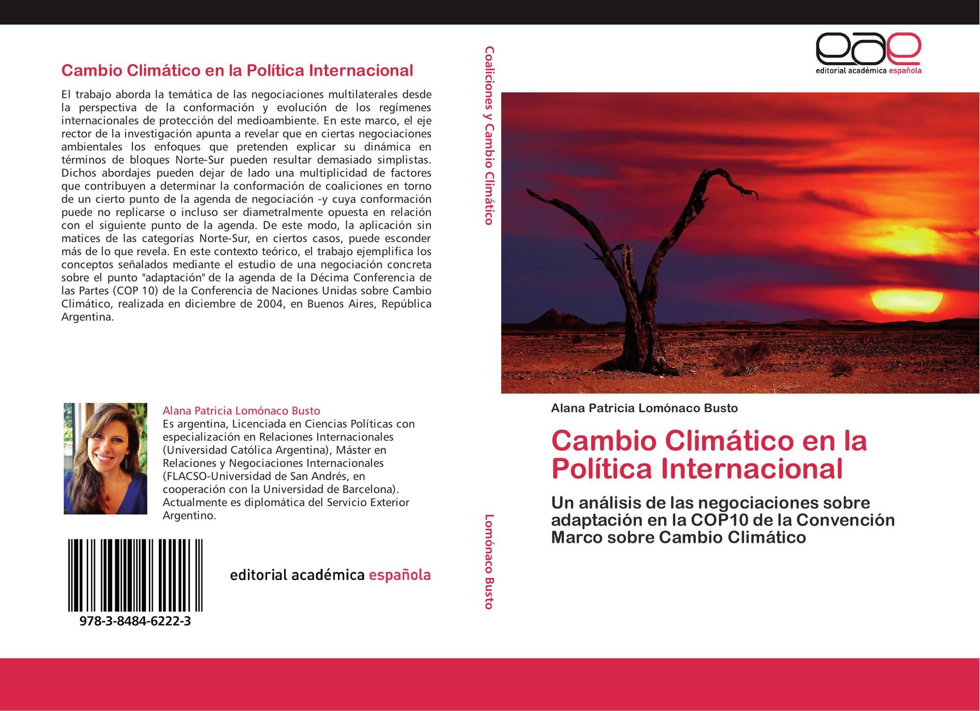 Cambio clim tico en la pol tica internacional 978 3 8484 for La politica internacional