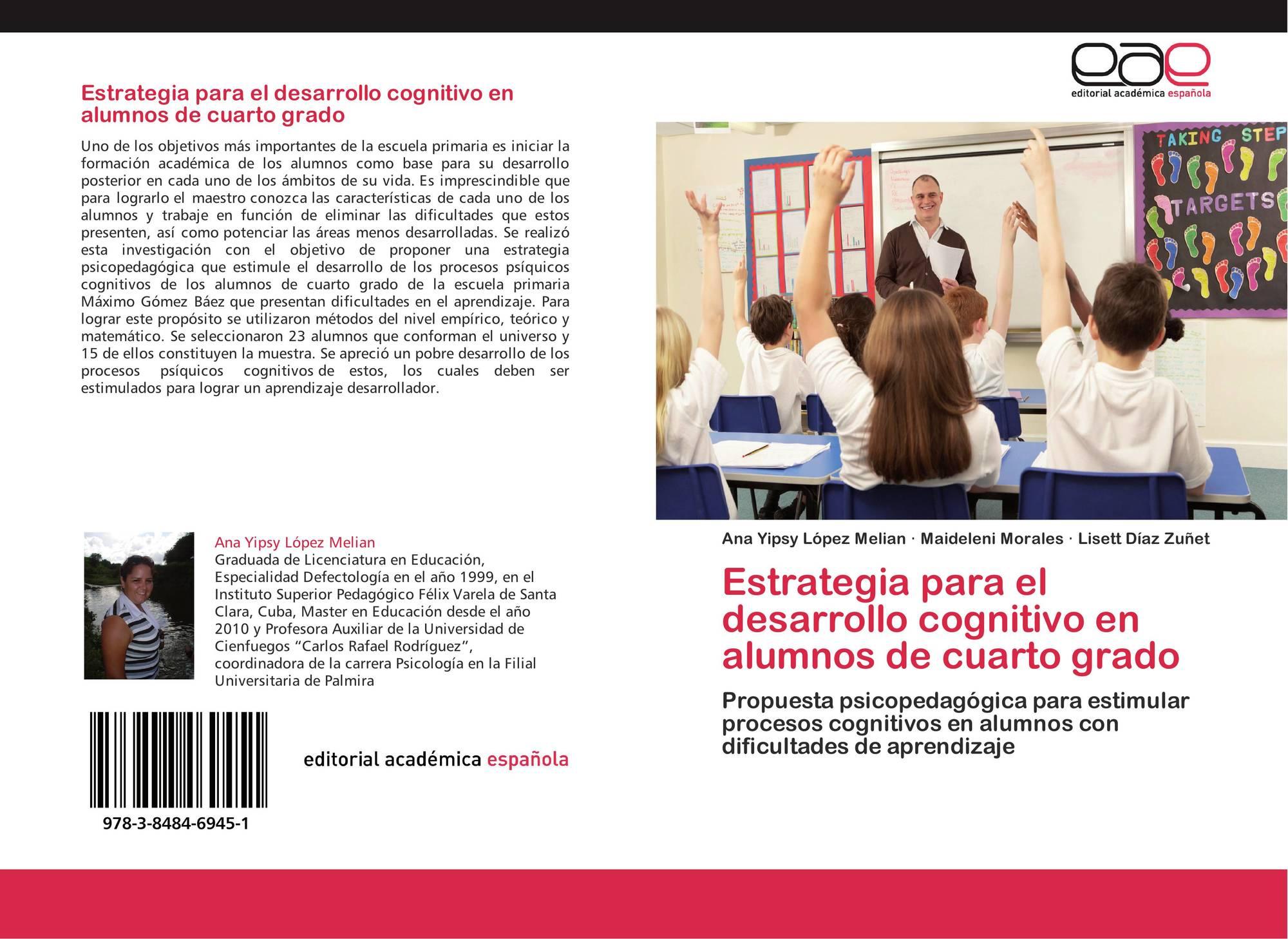 Estrategia para el desarrollo cognitivo en alumnos de cuarto grado ...