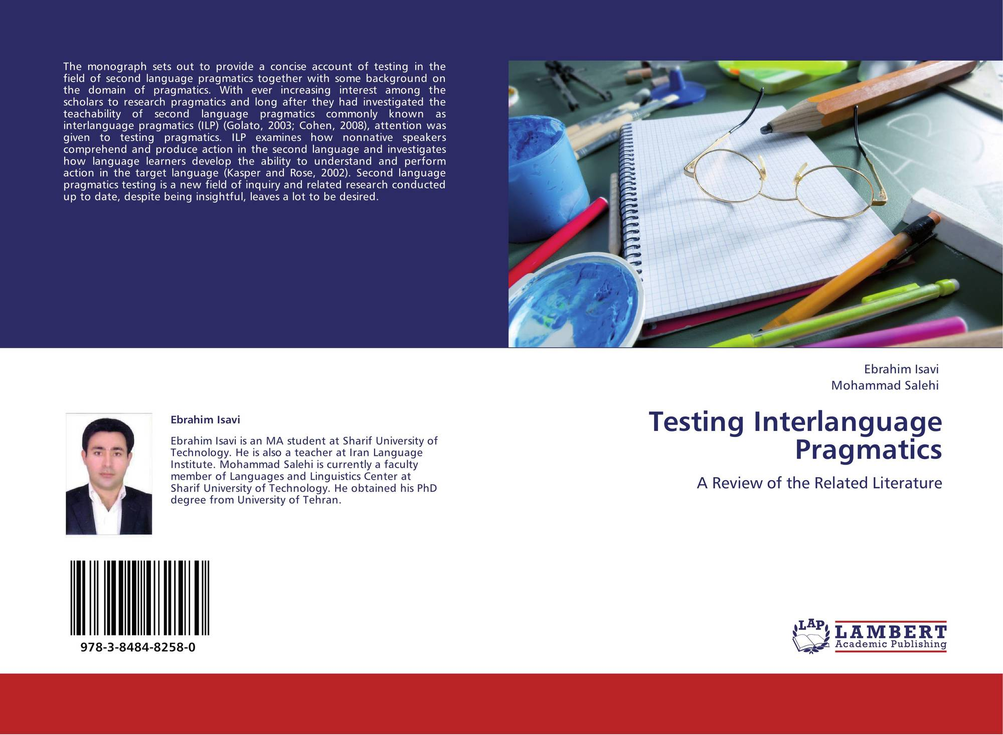 thesis on interlanguage pragmatics Unlike most editing & proofreading services, we edit for everything: grammar, spelling, punctuation, idea flow, sentence structure, & more get started now.