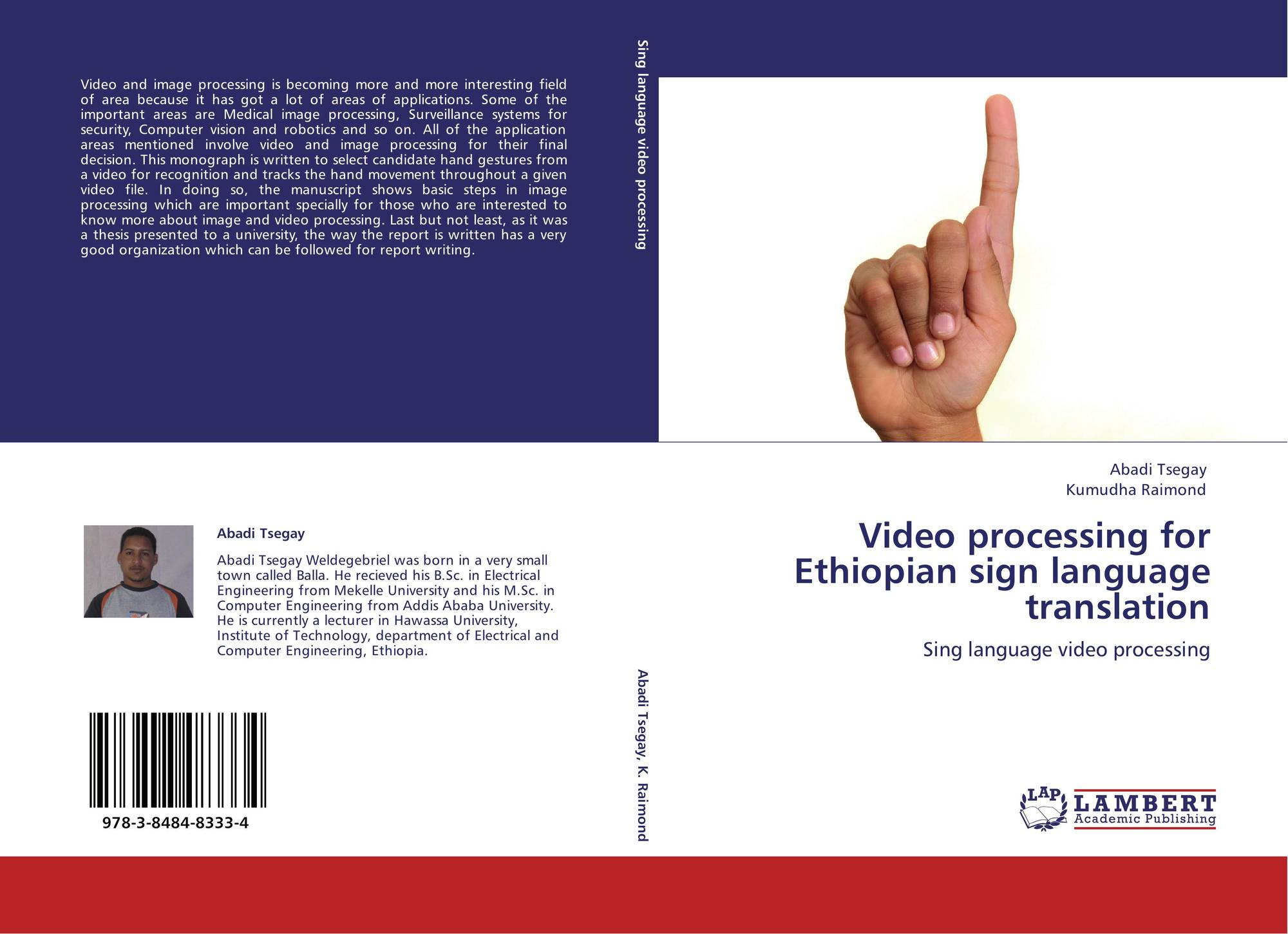 Video processing for Ethiopian sign language translation