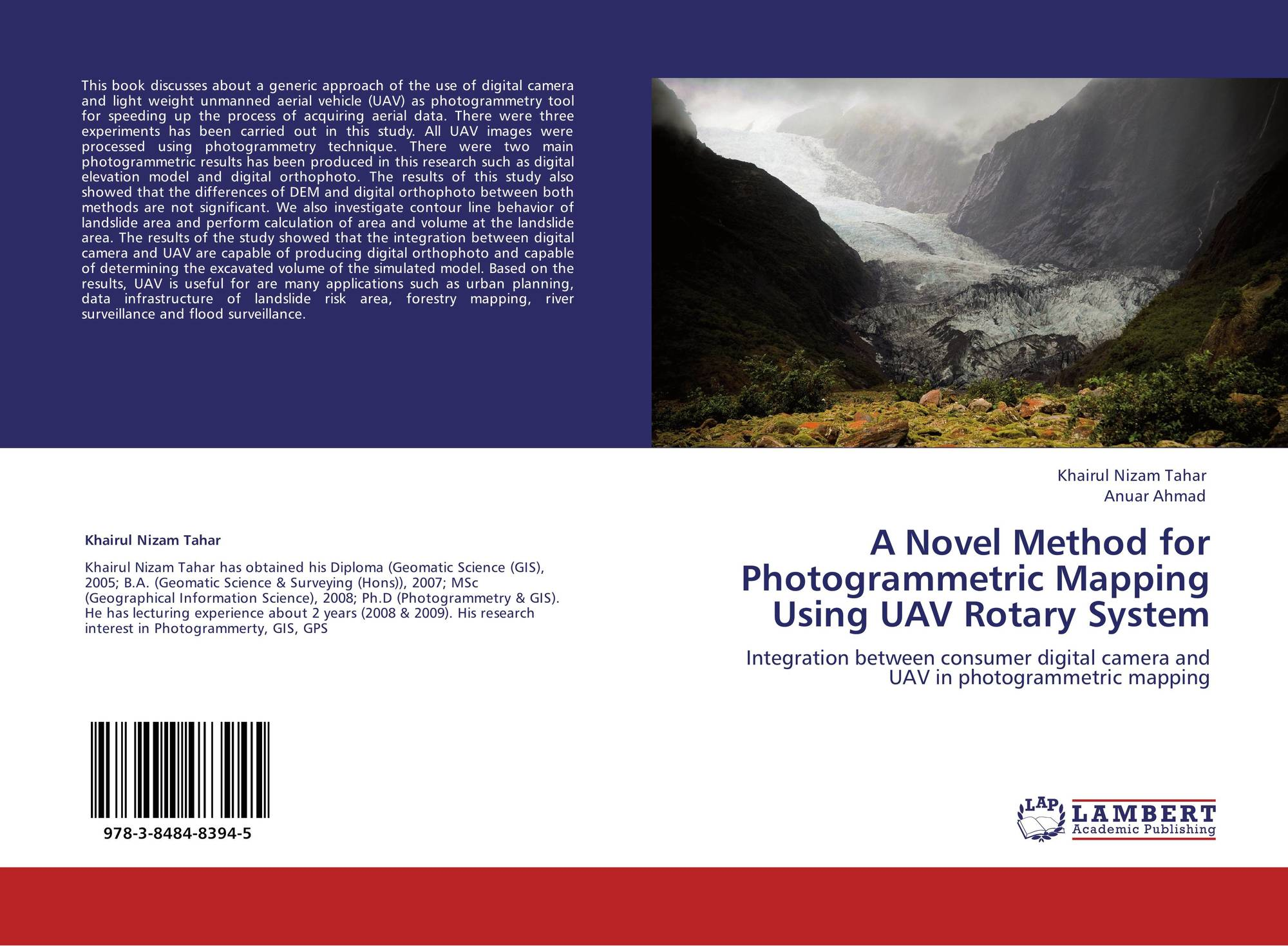 Bookcover Of A Novel Method For Photogrammetric Mapping Using UAV Rotary System