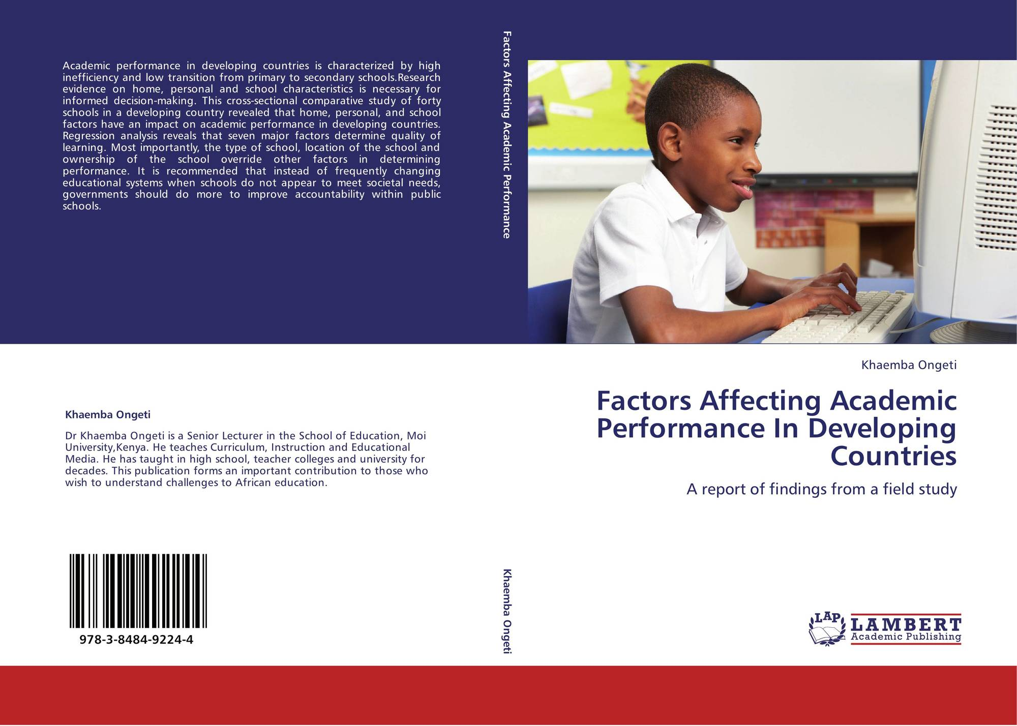 factors affecting academic performance of undergraduate Factors affecting students' academic performance irfan mushtaq  shabana nawaz khan 1 abstract - many practical studies are carried out to.
